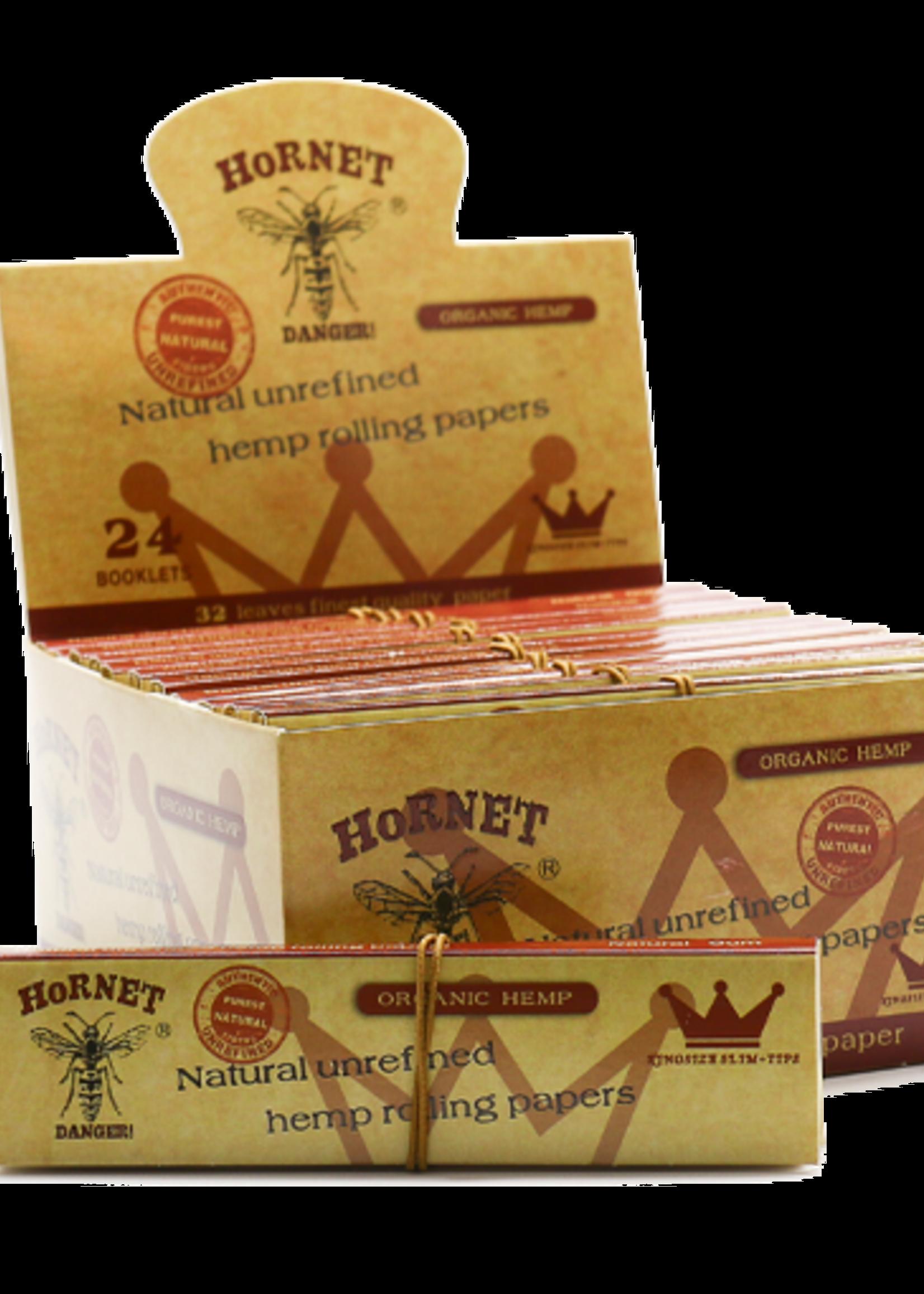 Hornet rolling paper - Unrefined hemp