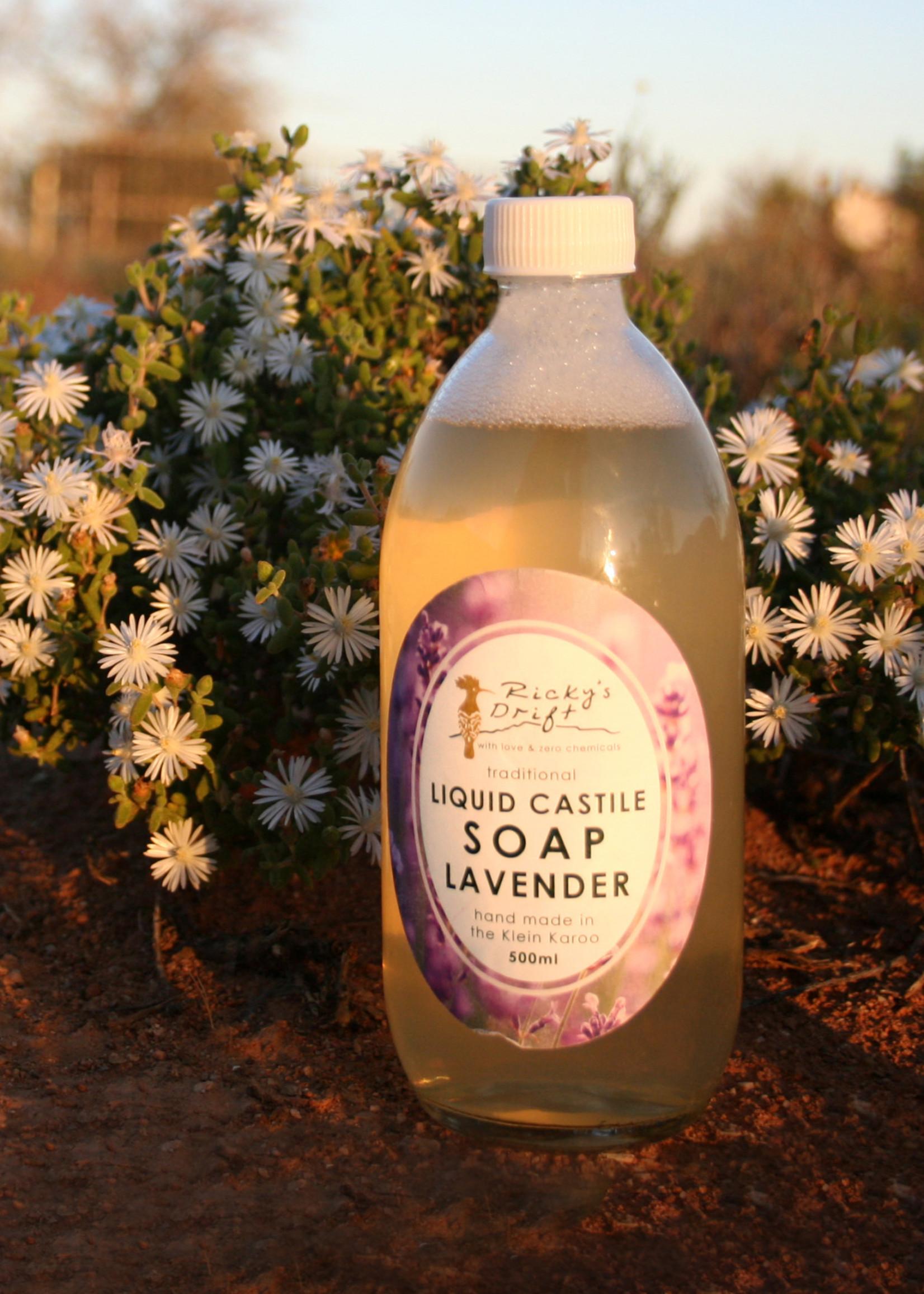 Ricky's Drift - Liquid Castile soap Lavender