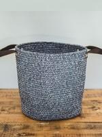 Organic & Air Cotton Beach Bag Small Blue