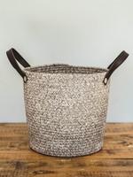 Cotton beach bag medium Coffee