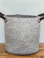 Organic & Air Cotton beach bag medium Grey