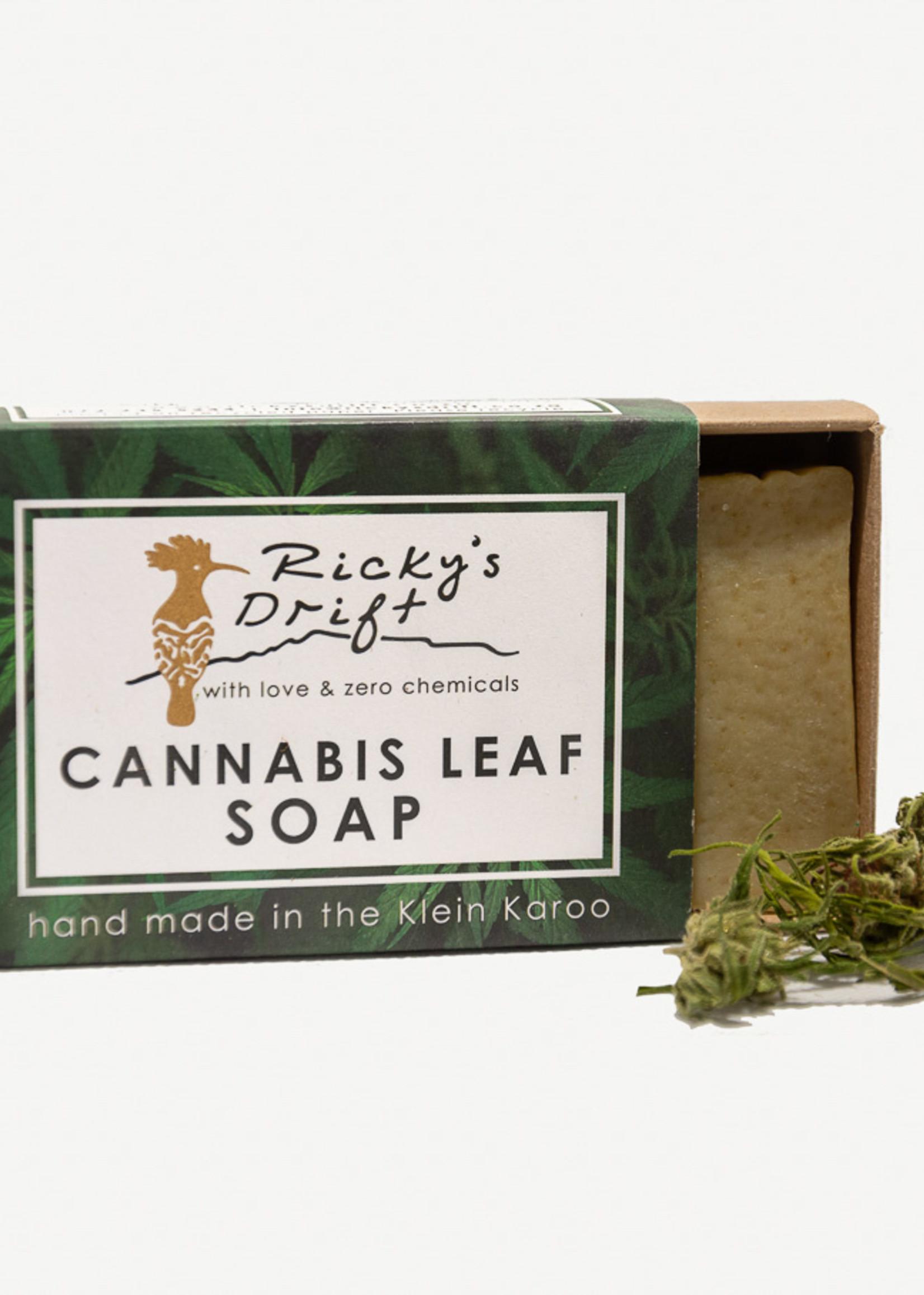 Ricky's Drift - Soap bar Cannabis leaf