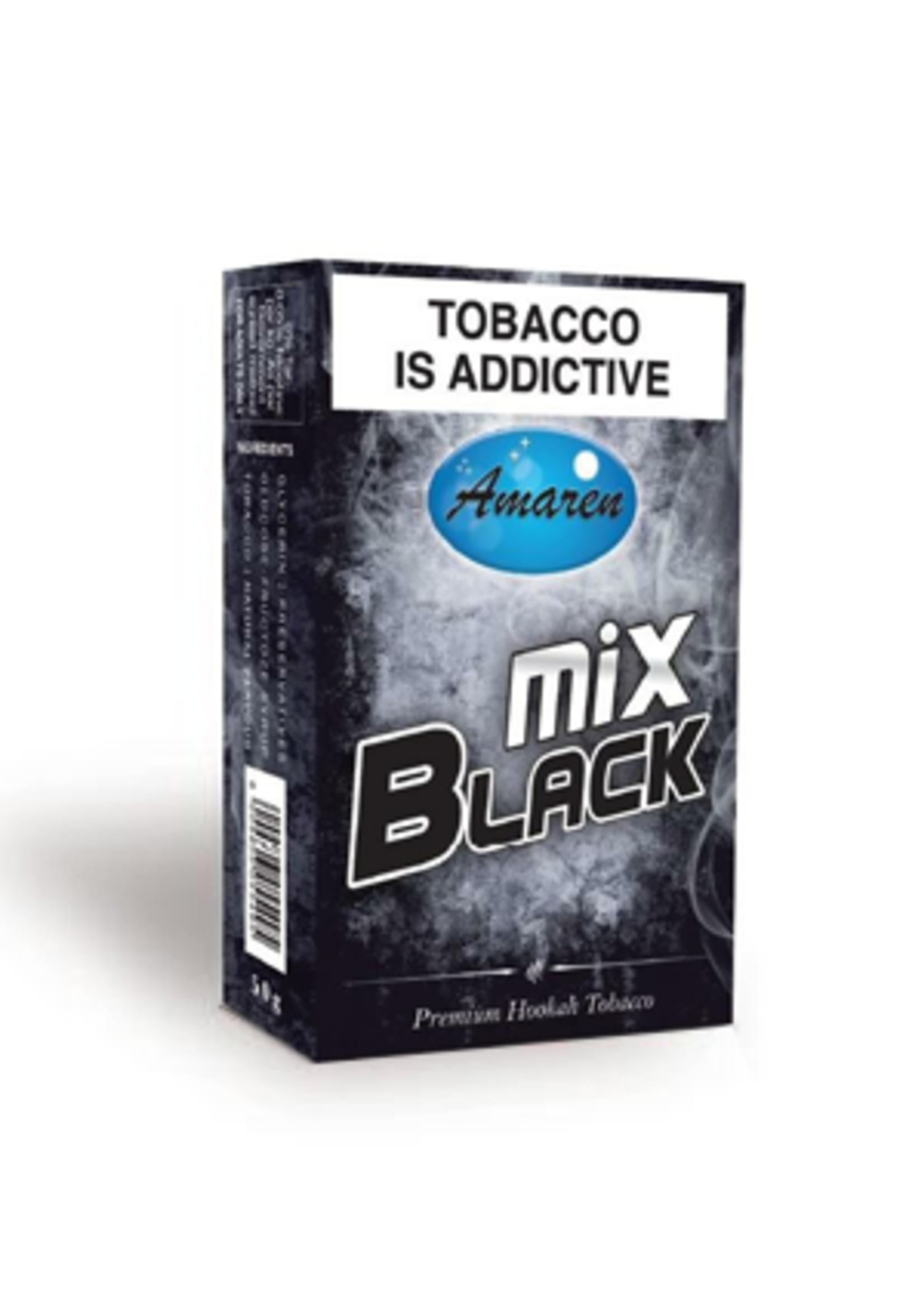 Amaren hubbly flavour - black mix