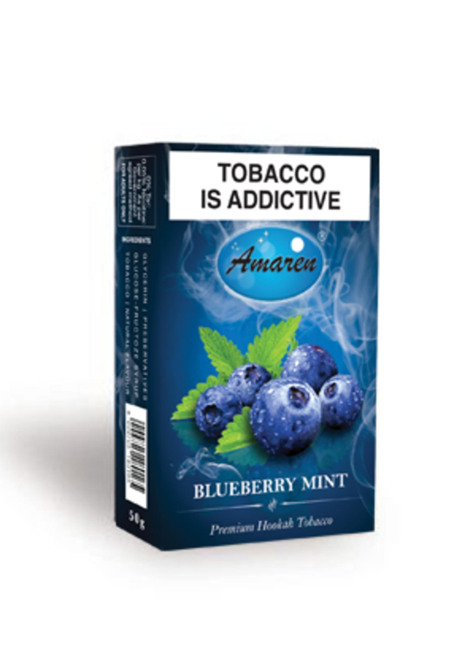 Amaren hubbly flavour - blueberry mint