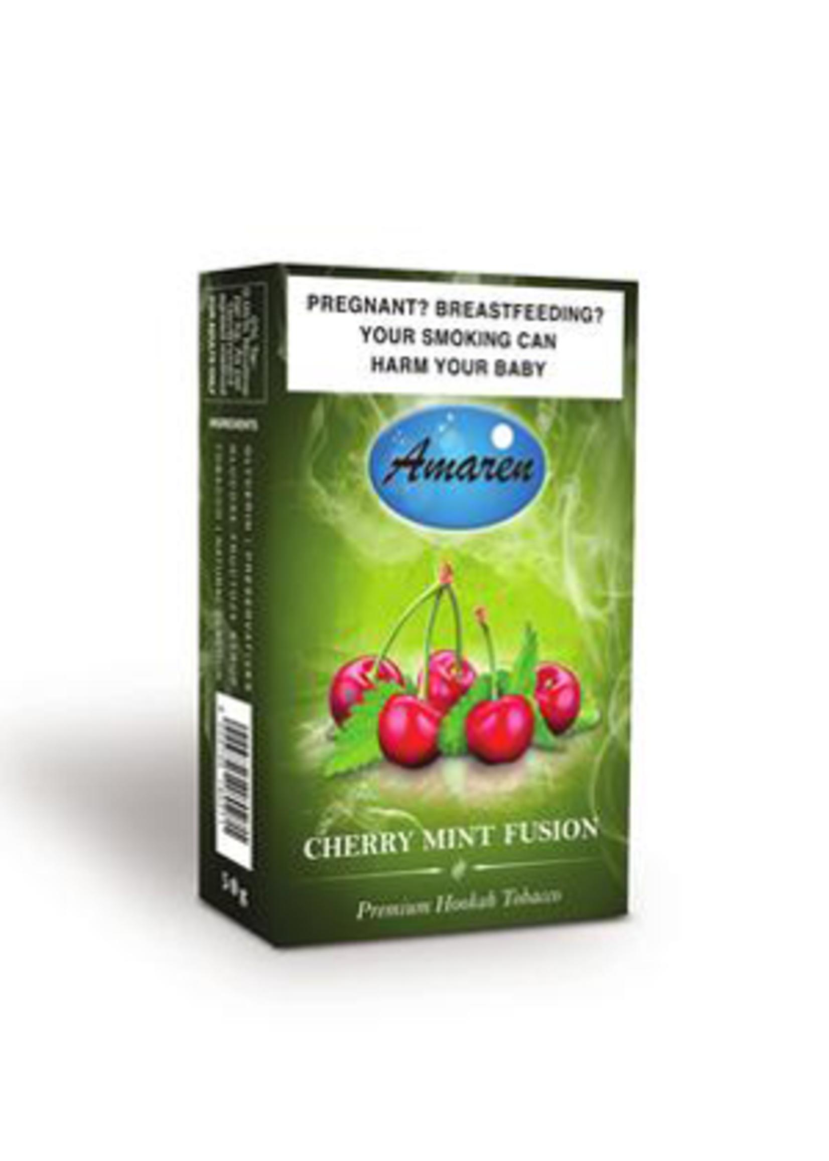 Amaren hubbly flavour - cherry mint fusion
