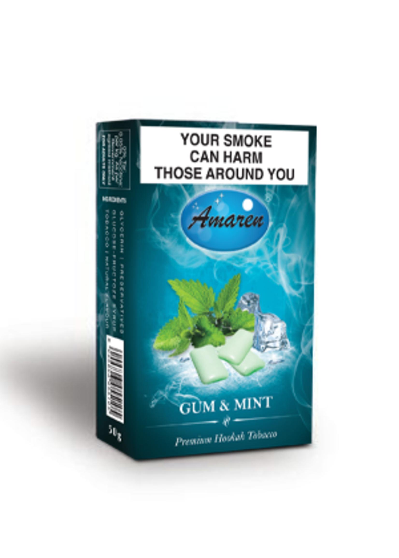 Amaren hubbly flavour - gum & mint
