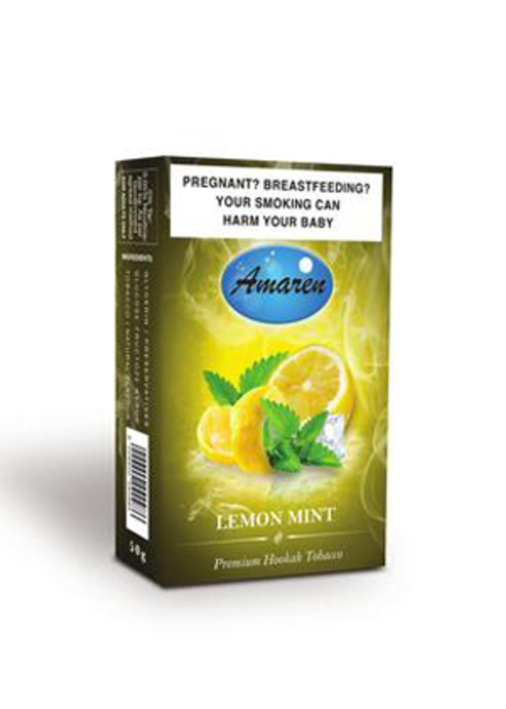Amaren hubbly flavour - lemon mint