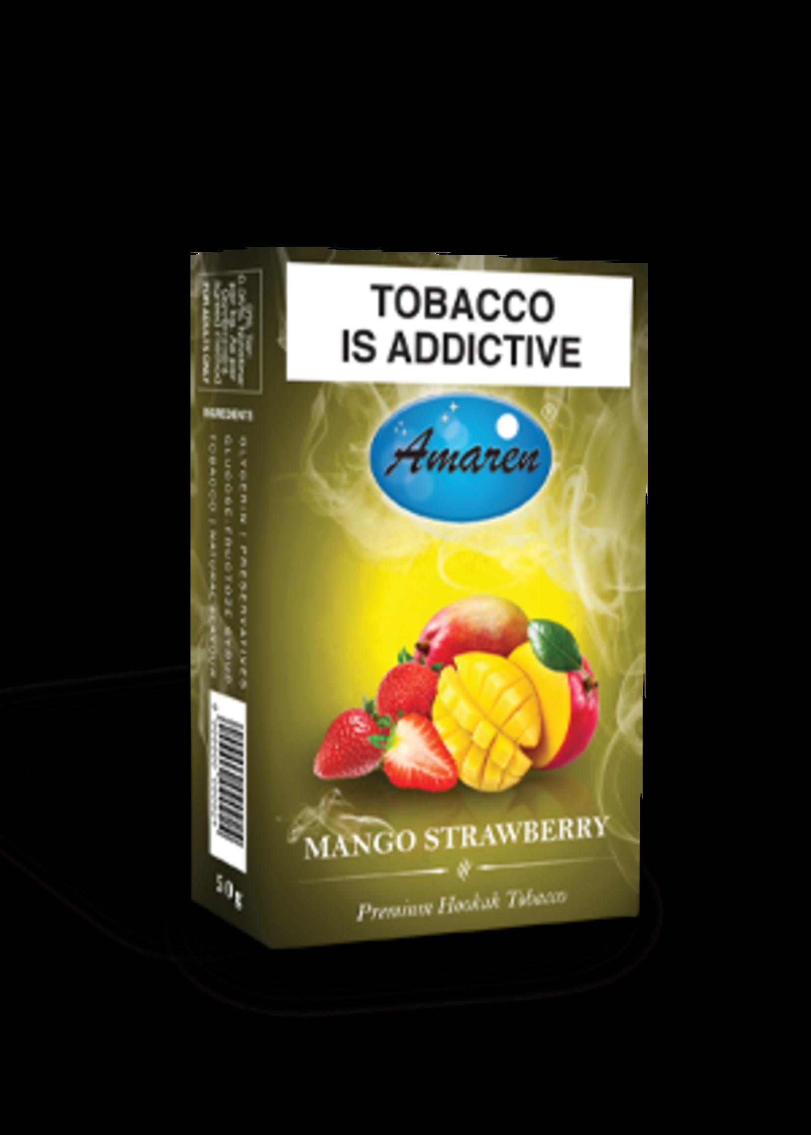 Amaren hubbly flavour - mango strawberry