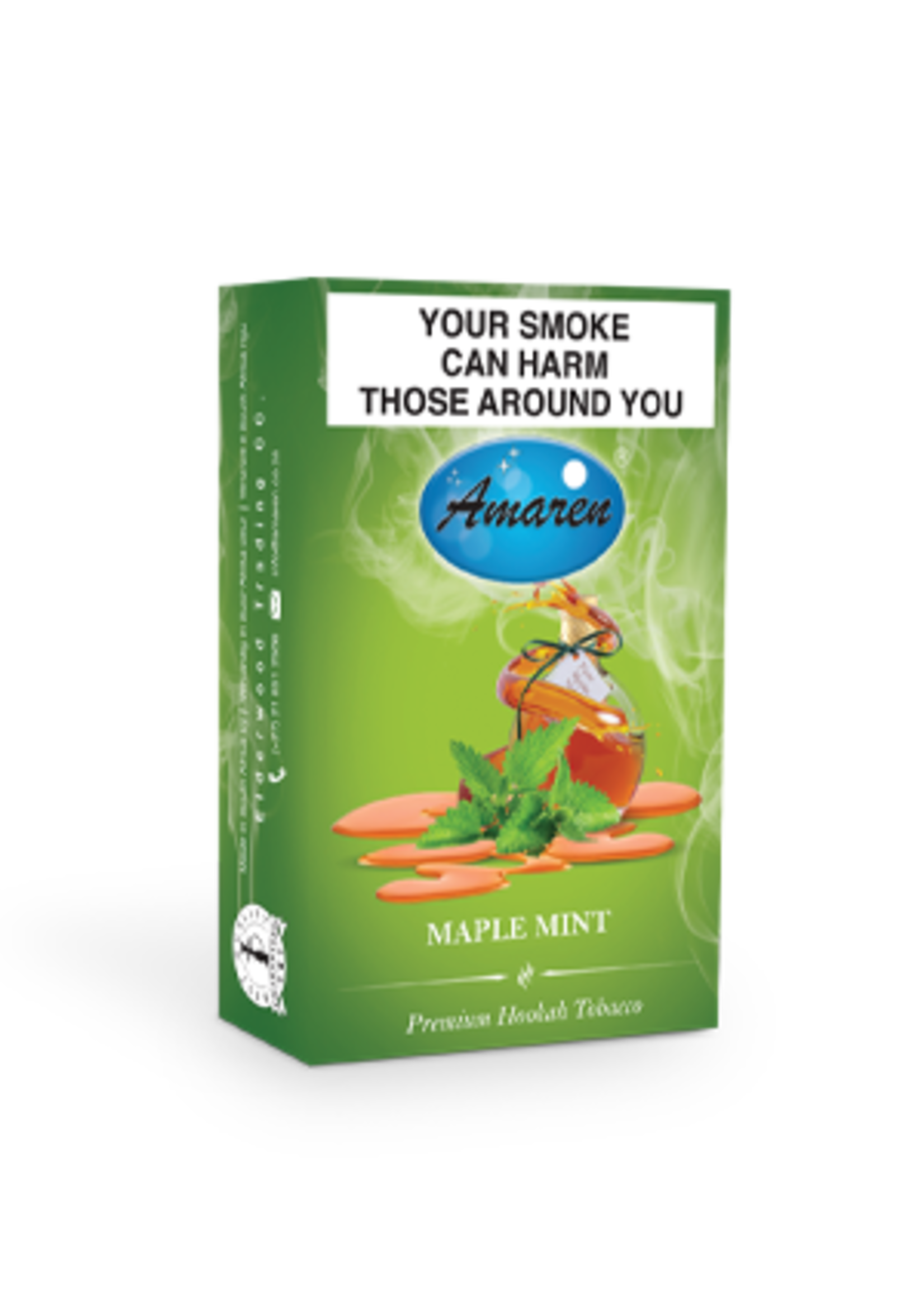 Amaren hubbly flavour - maple mint