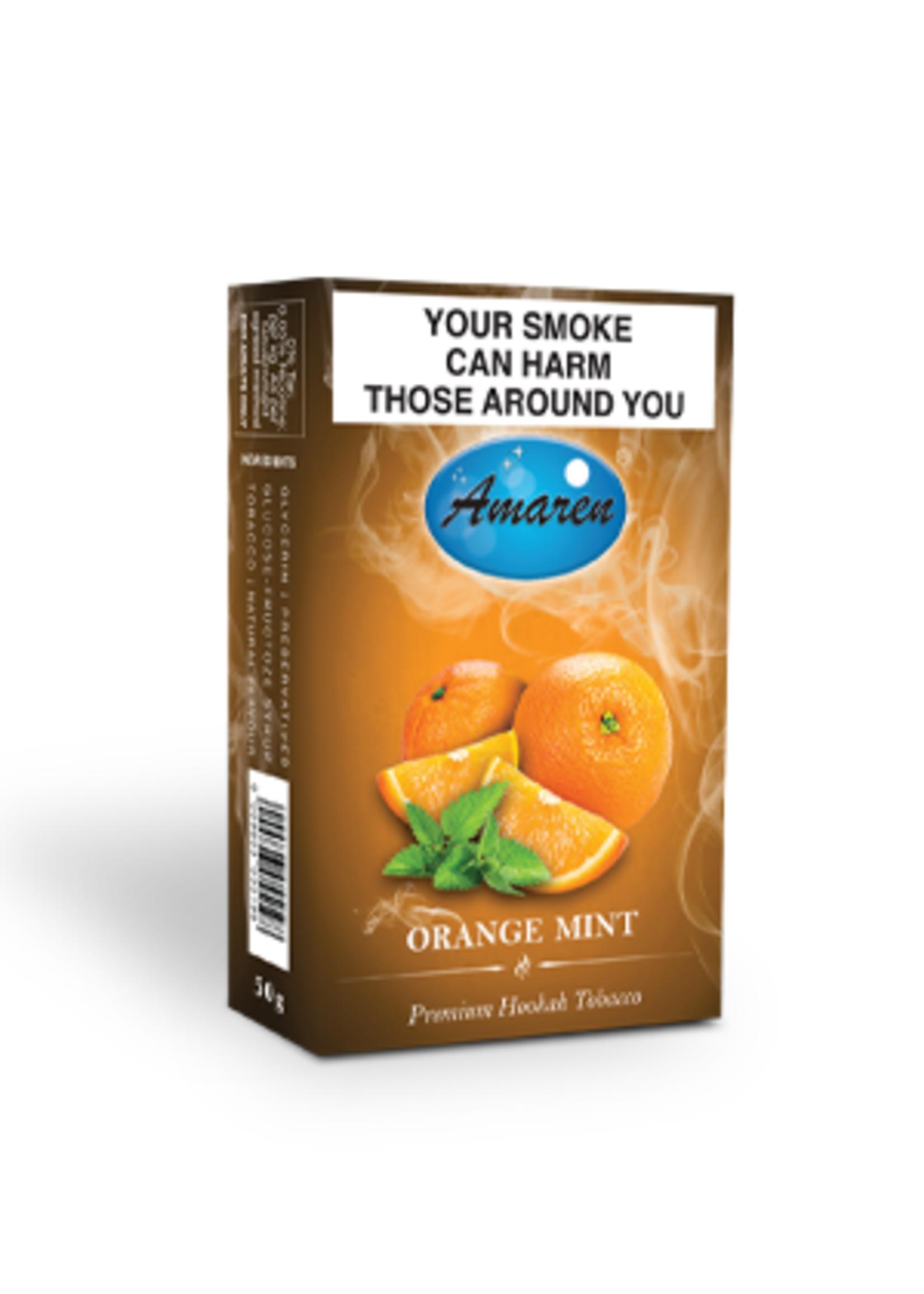 Amaren hubbly flavour - orange mint