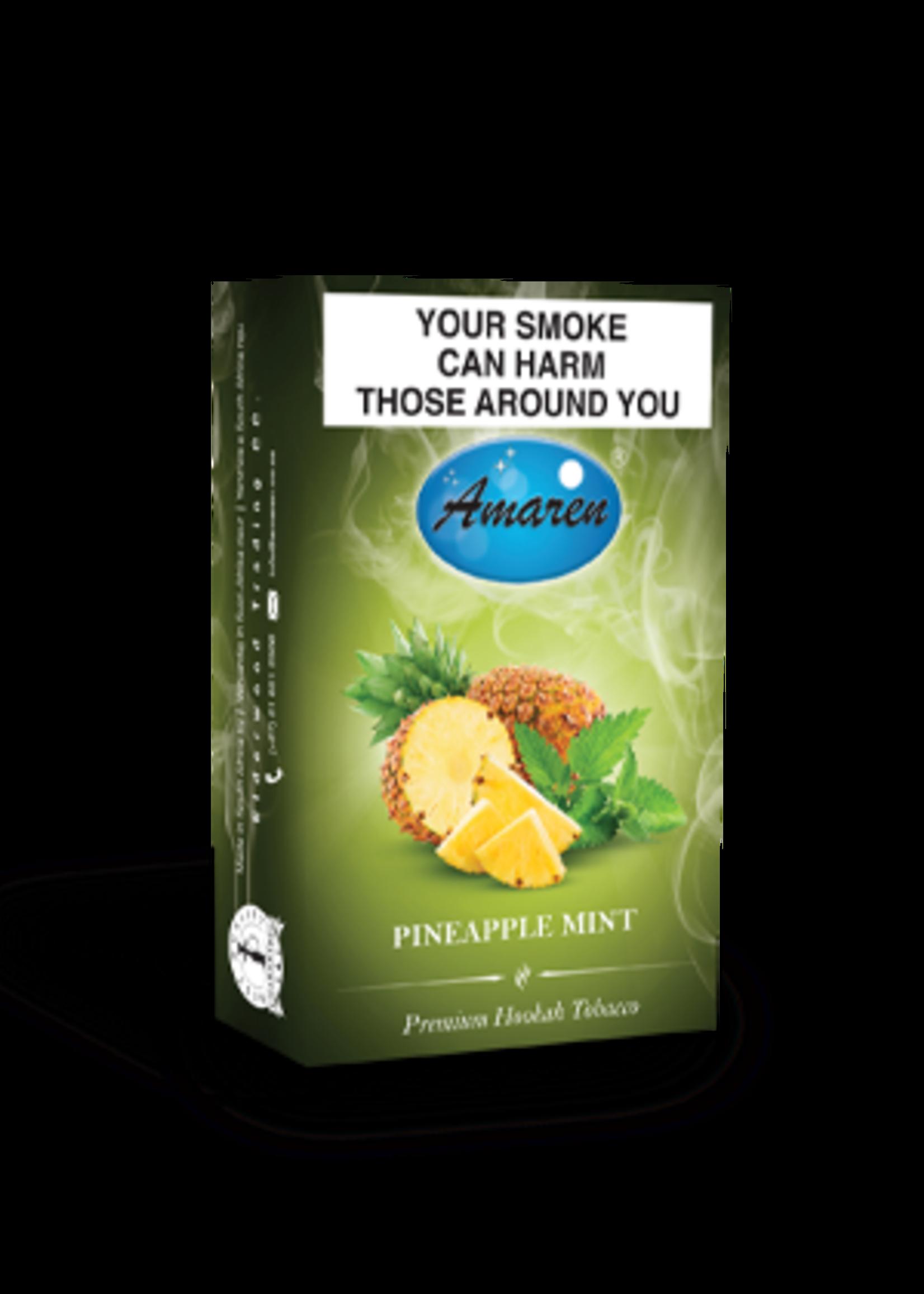 Amaren hubbly flavour - pineapple mint