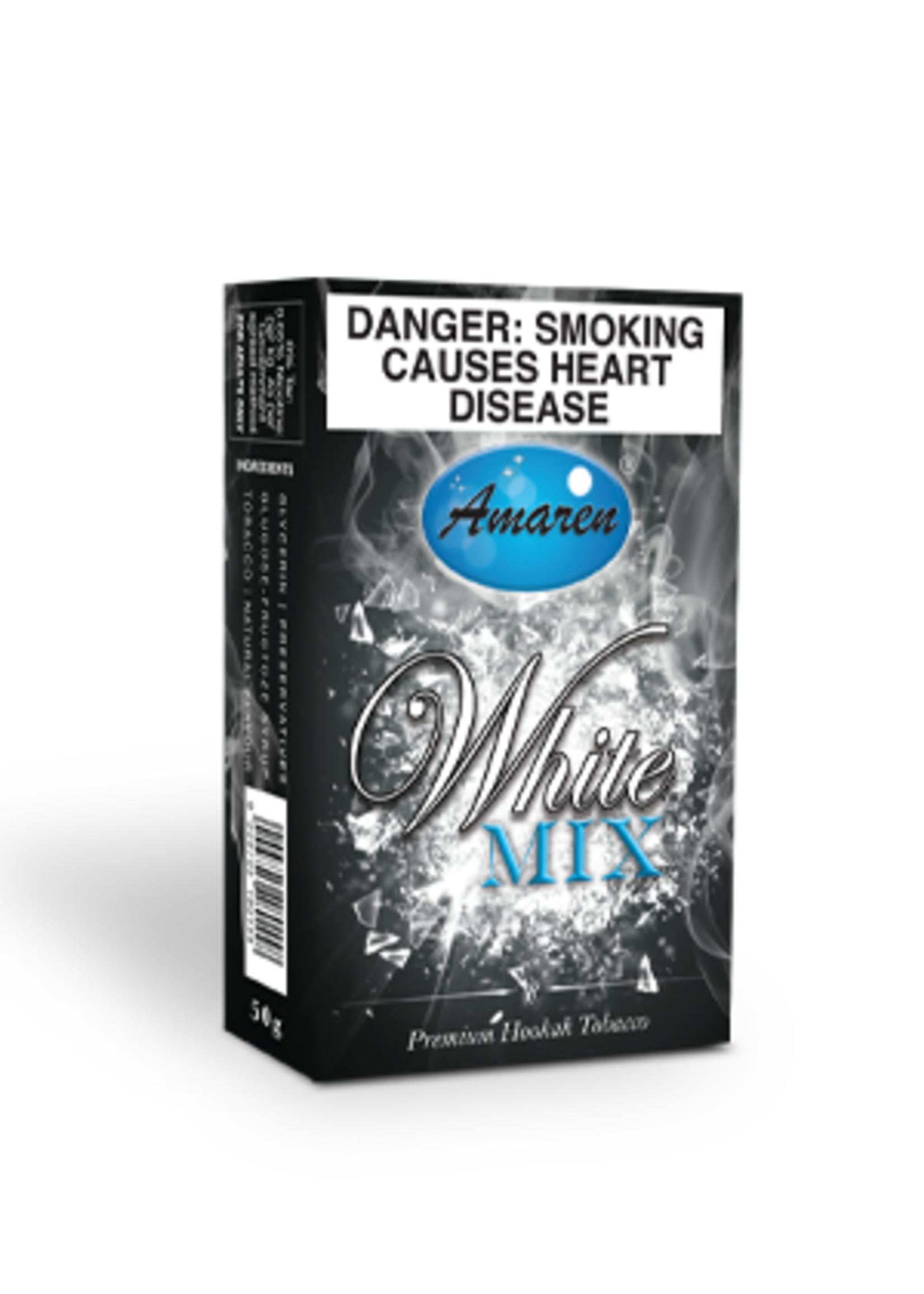 Amaren Hubbly Flavour - White Mix