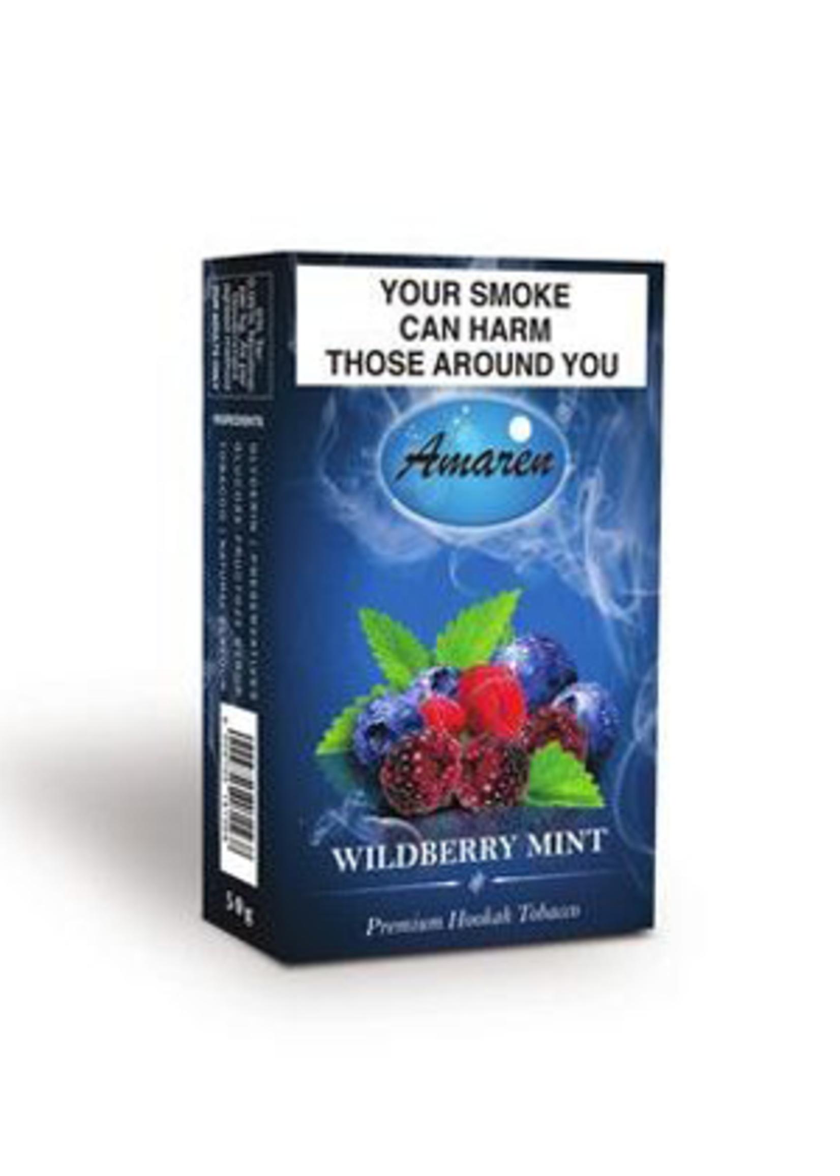 Amaren hubbly flavour - wildberry mint