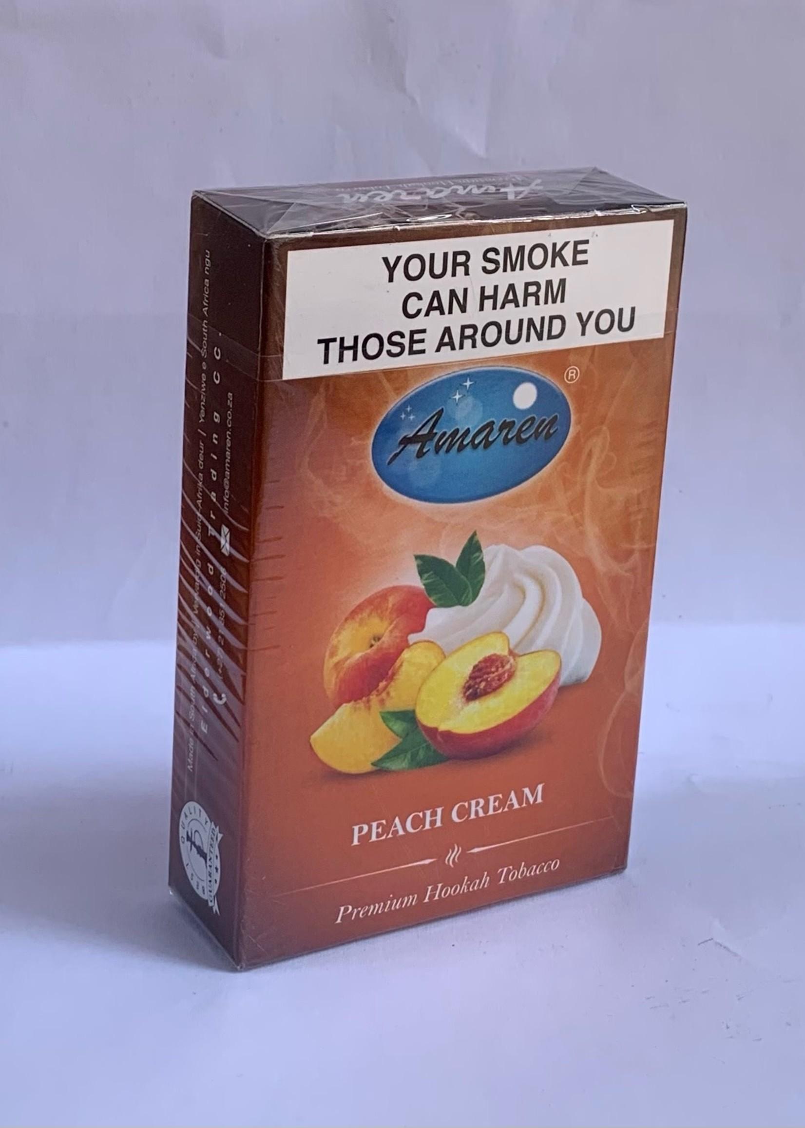 Amaren hubbly flavour - peach cream