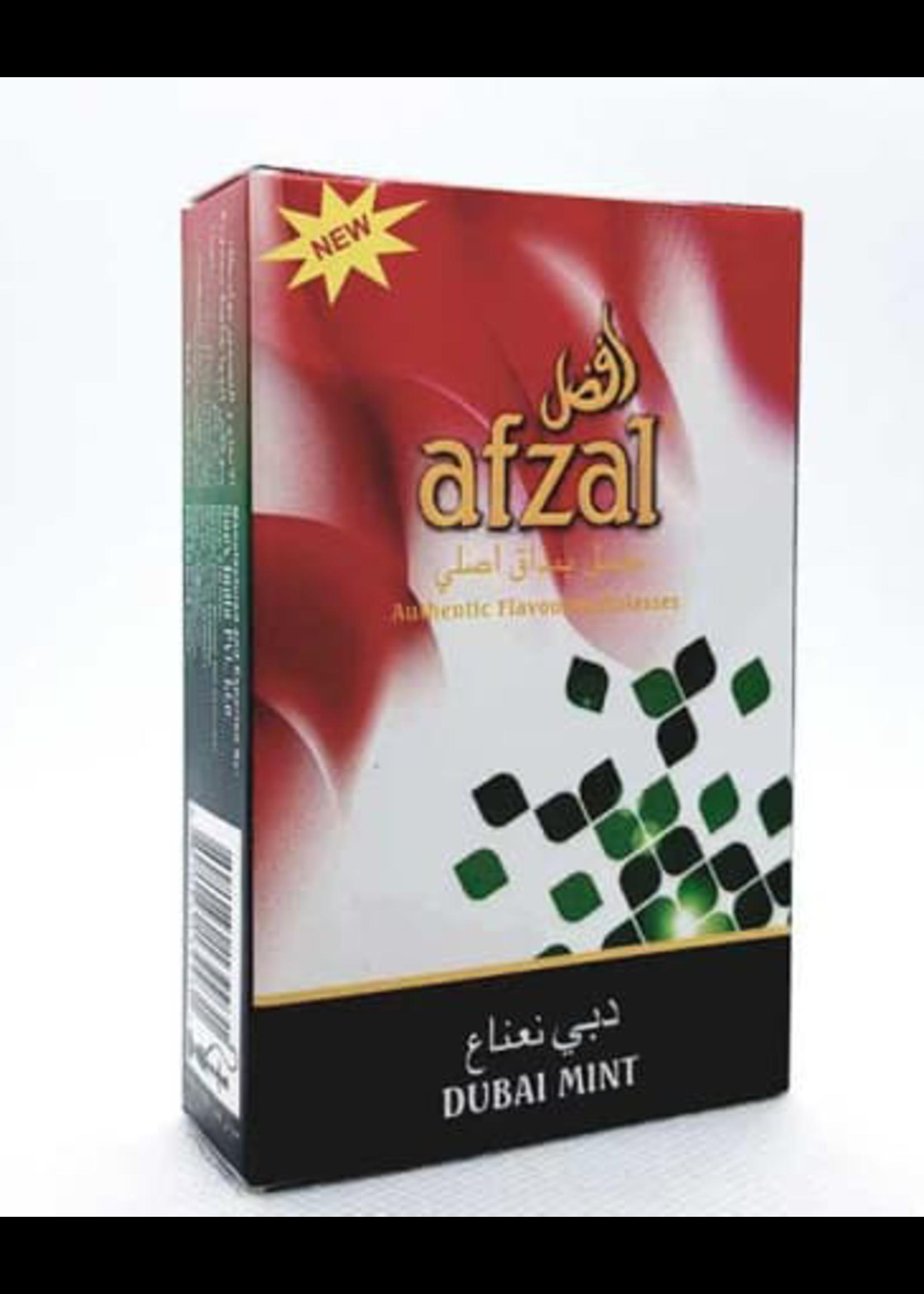 Afzal hubbly flavour - dubai mint