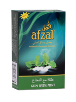Afzal Hubbly Flavour - Gum With Mint