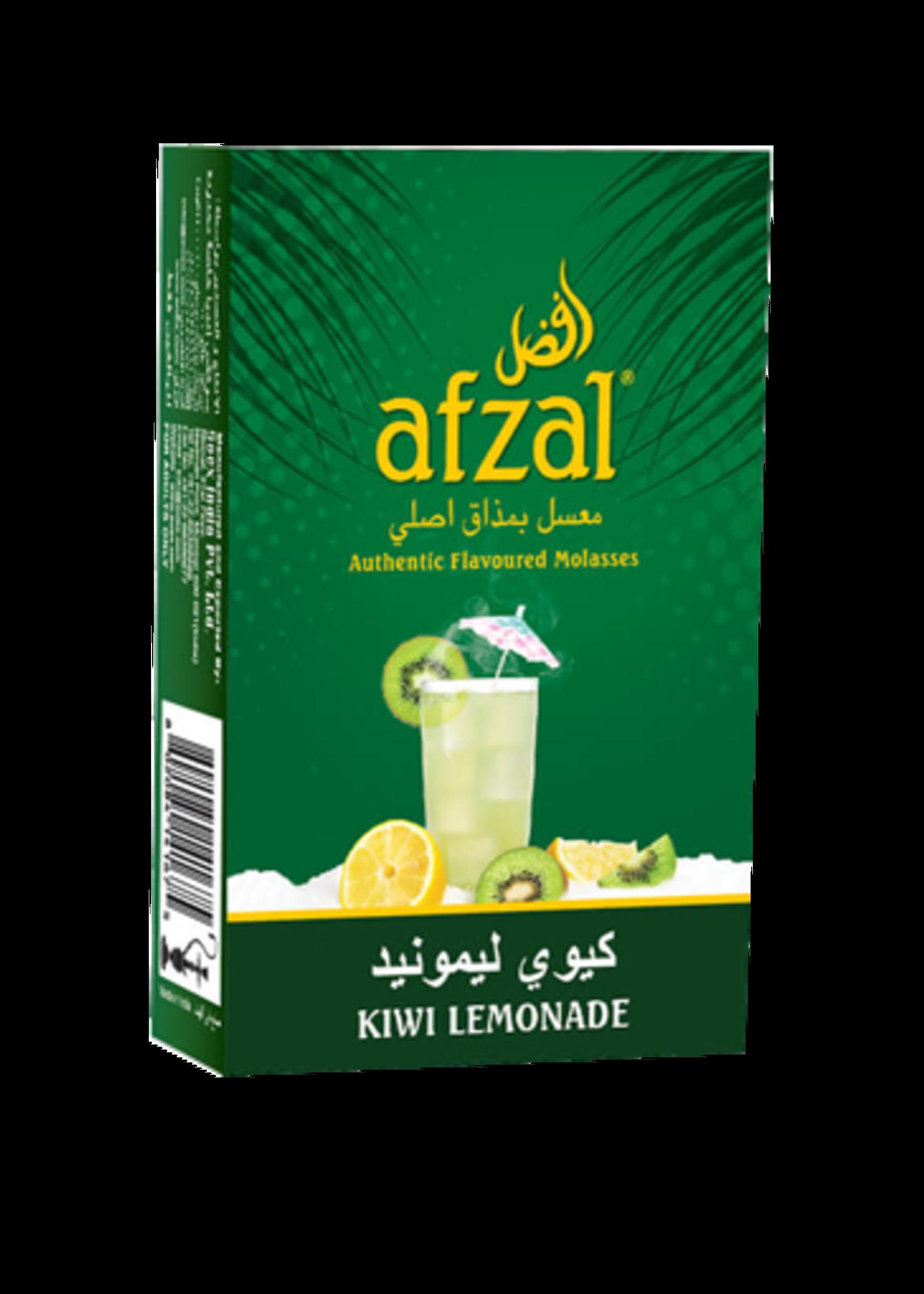 Afzal hubbly flavour - kiwi lemonade
