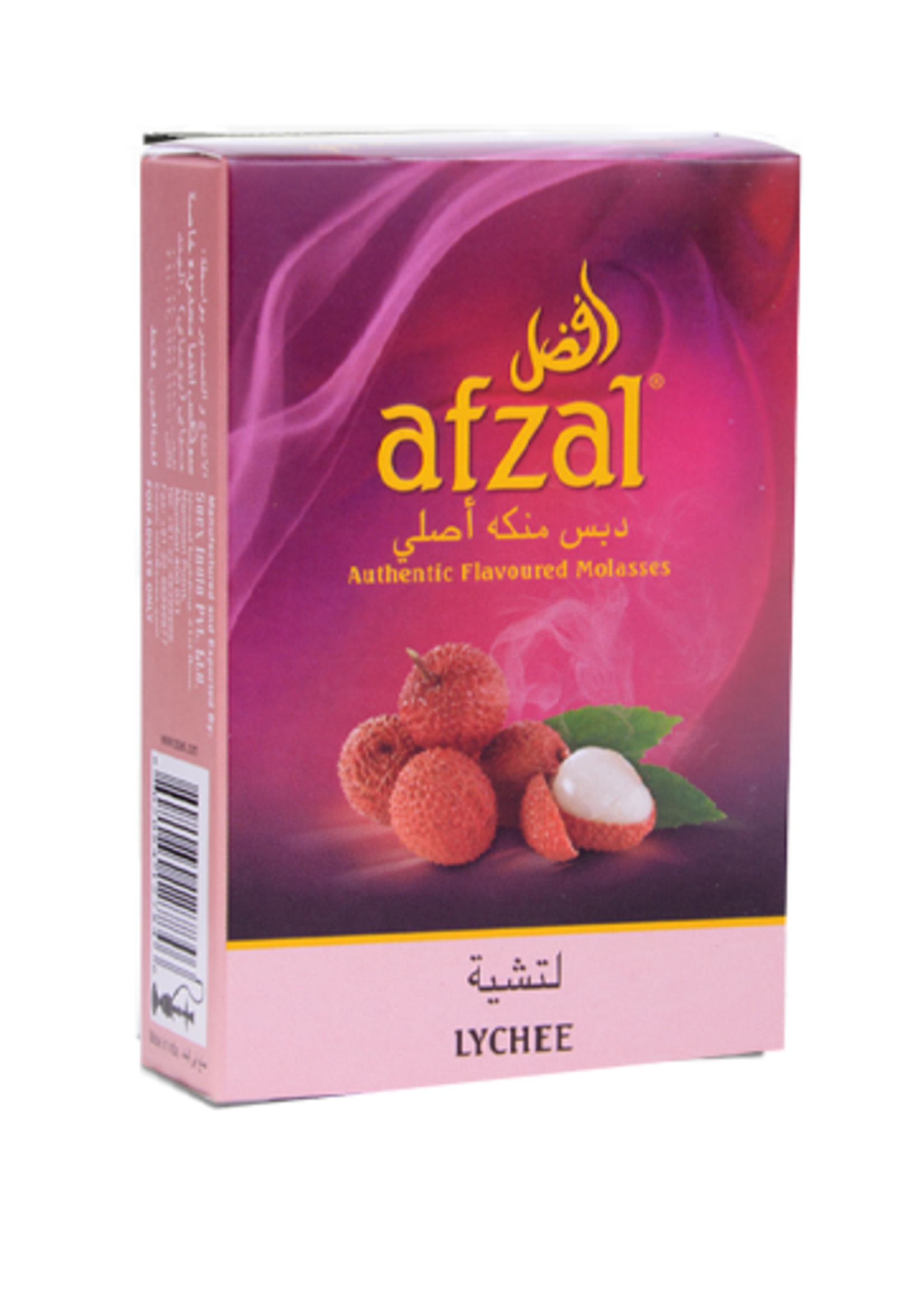 Afzal hubbly flavour - lychee