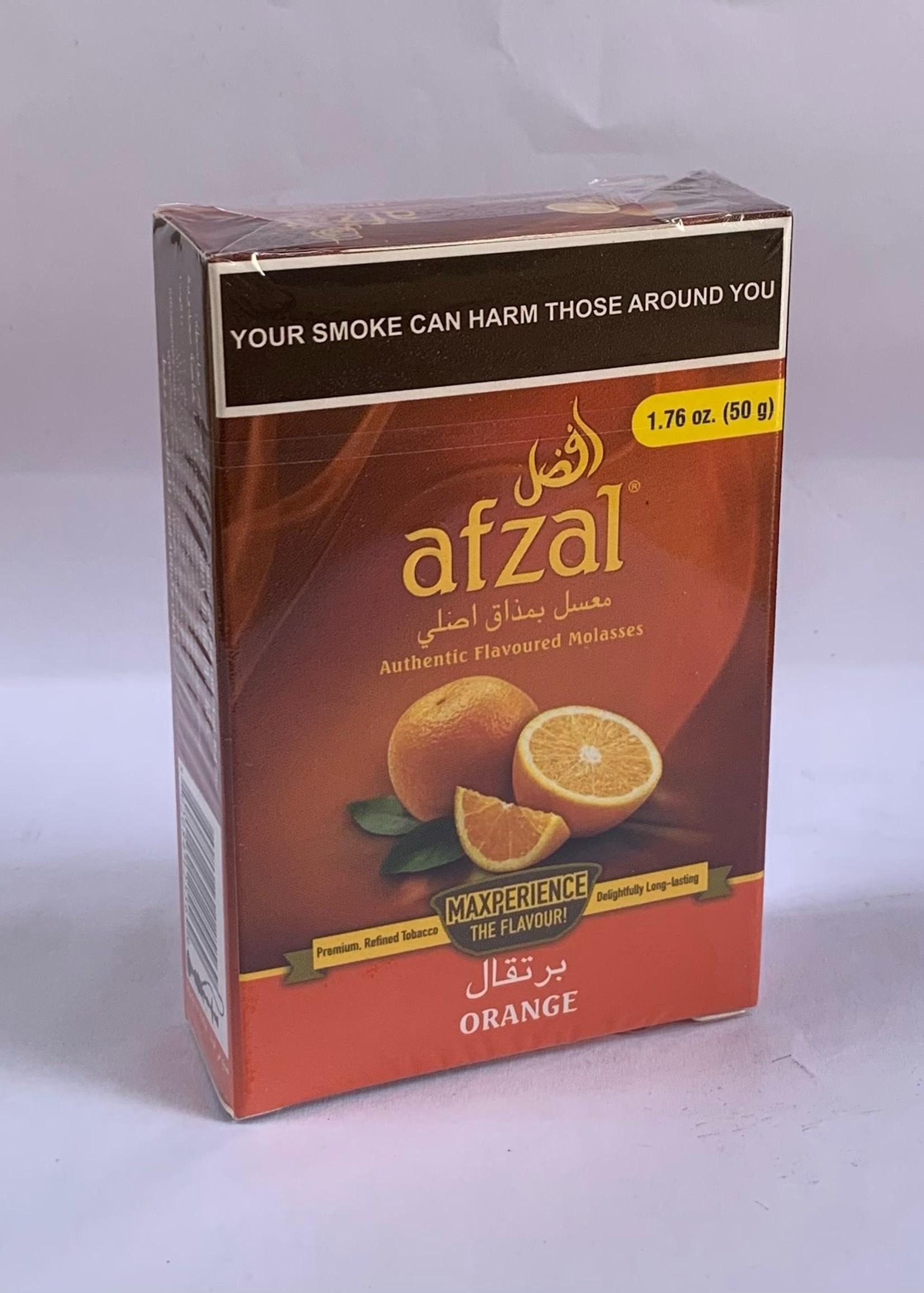 Afzal hubbly flavour - orange