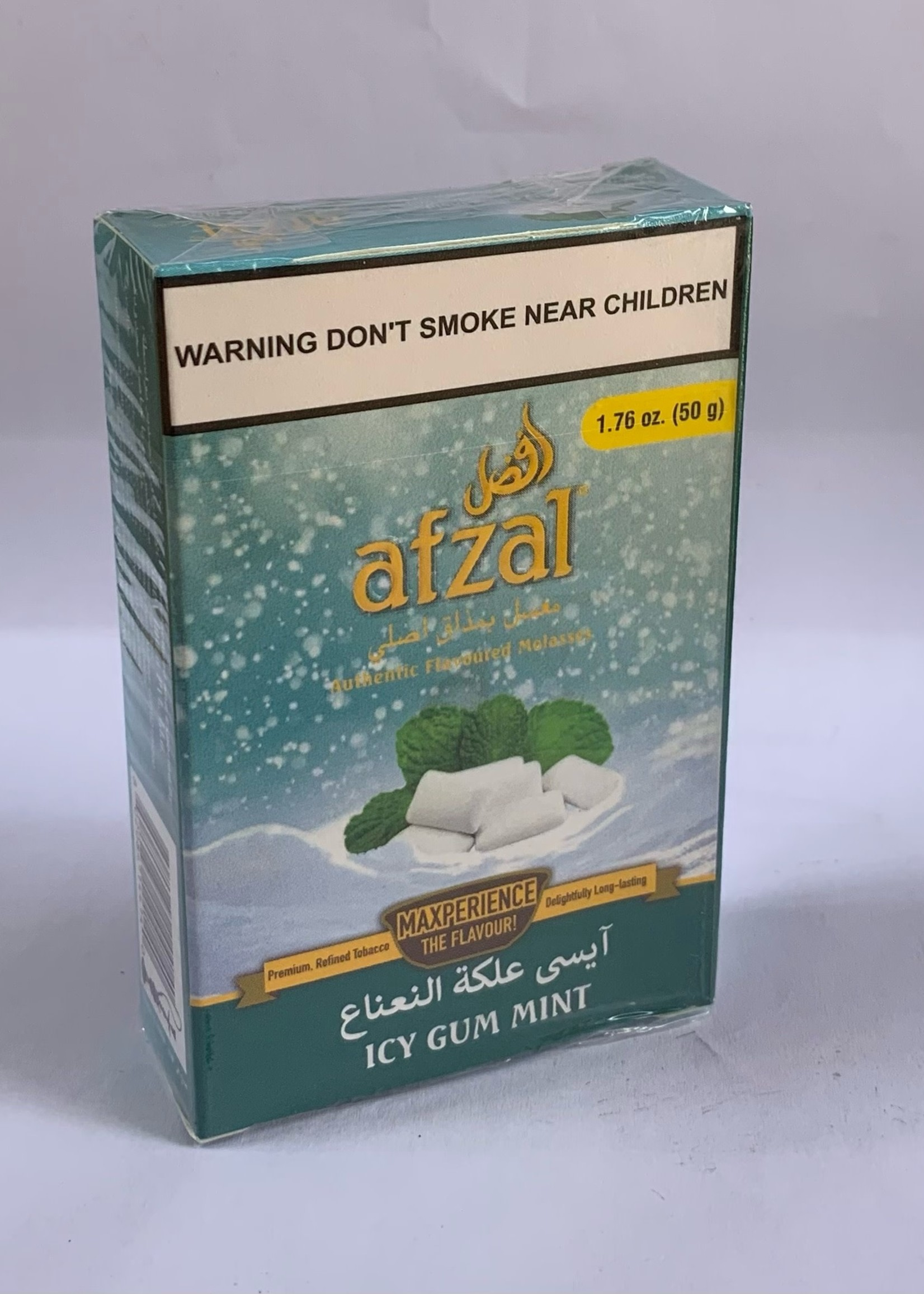 Afzal hubbly flavour - icy gum mint