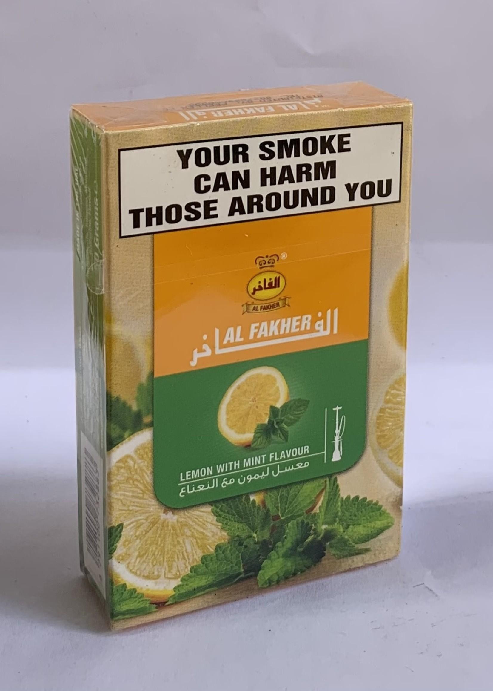 Al fakher hubbly flavour - lemon mint