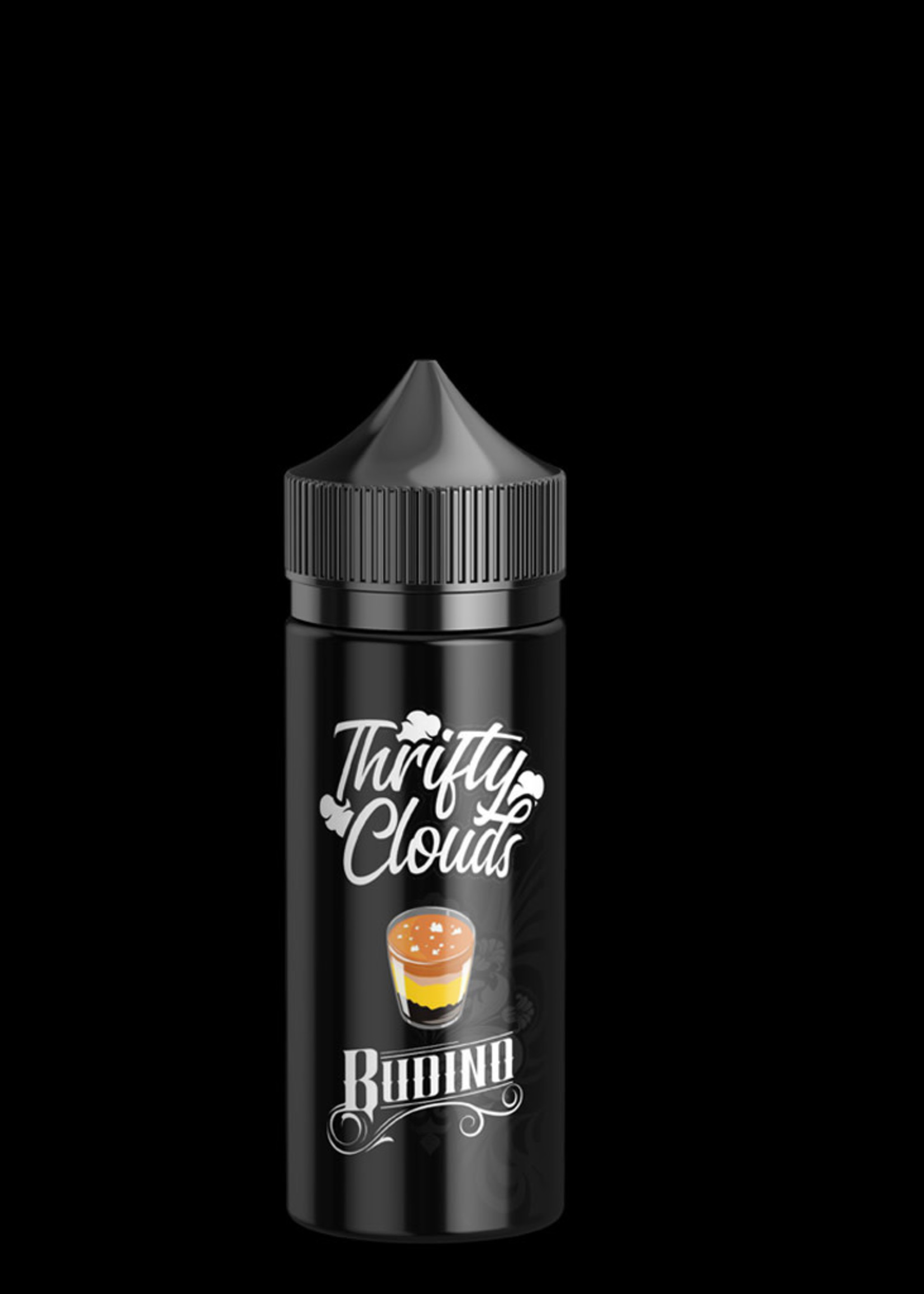 Thrifty clouds Vape flavour - Budino 100ml- 3mg