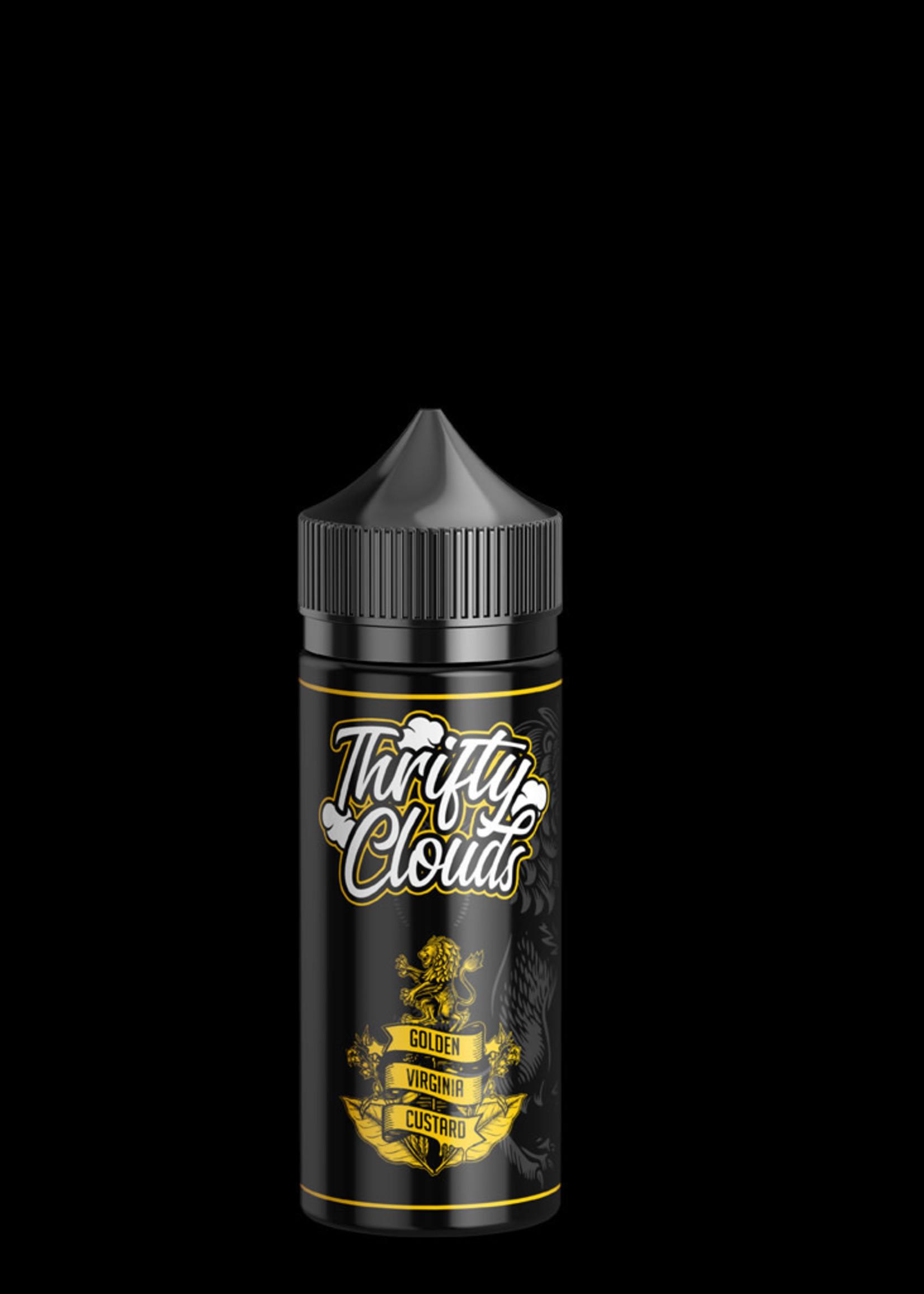 Thrifty clouds Vape flavour - Golden virginia custard 100ml- 3mg