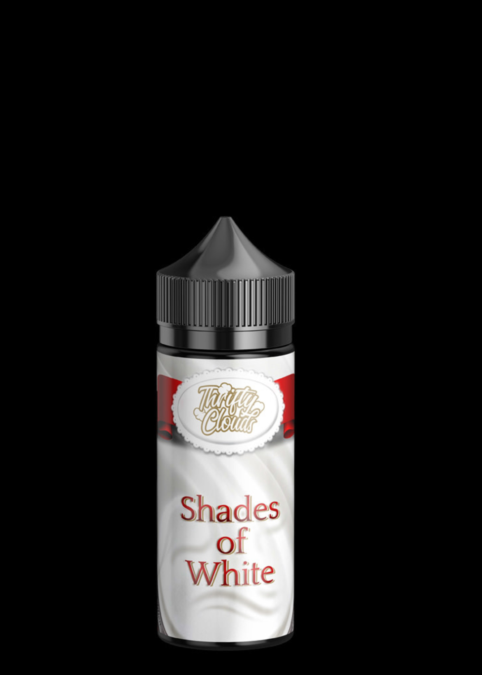 Thrifty clouds Vape flavour - Shades of white 100ml- 3mg