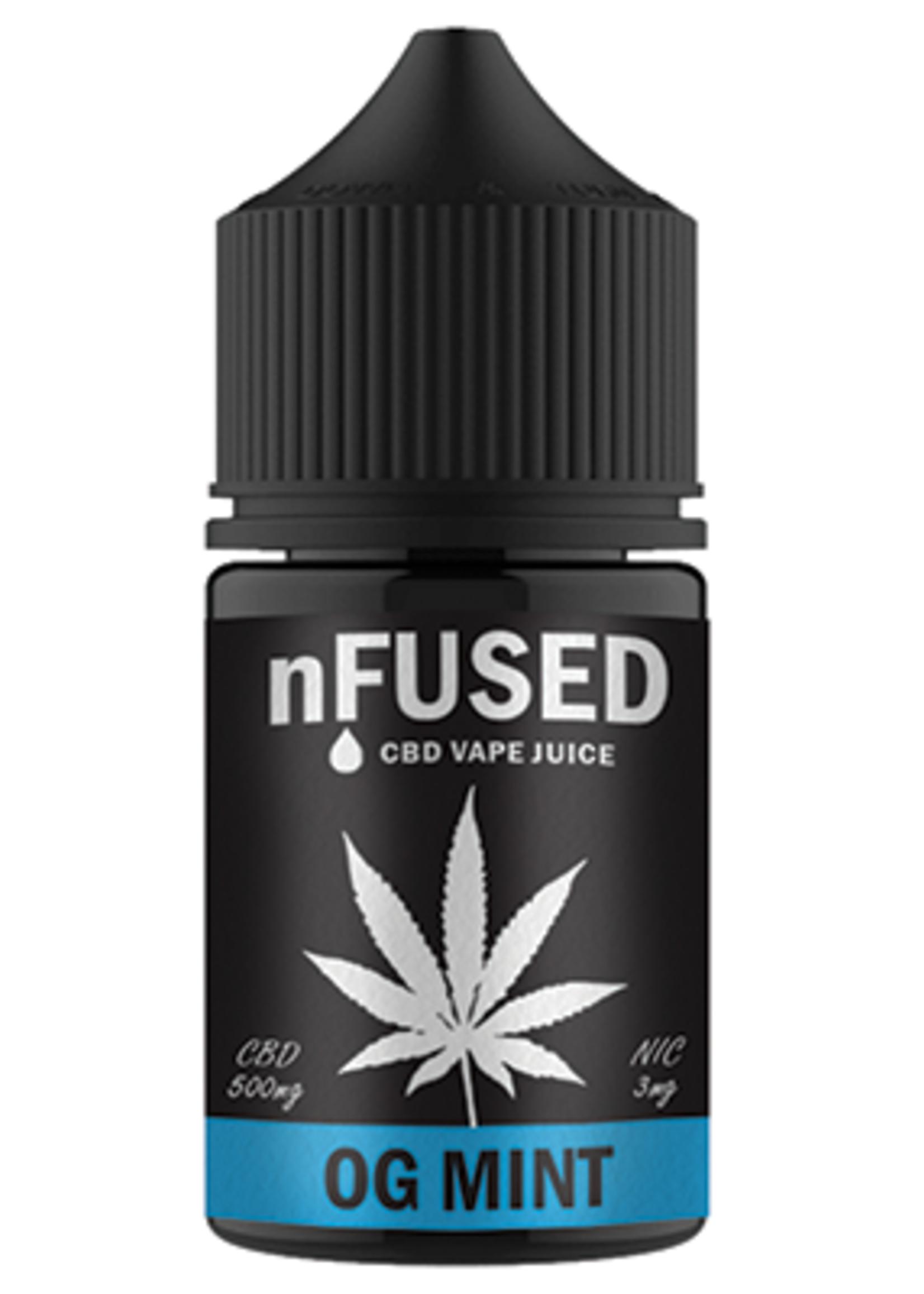 Vape flavour - CBD nfused OG mint 30ml- 3mg