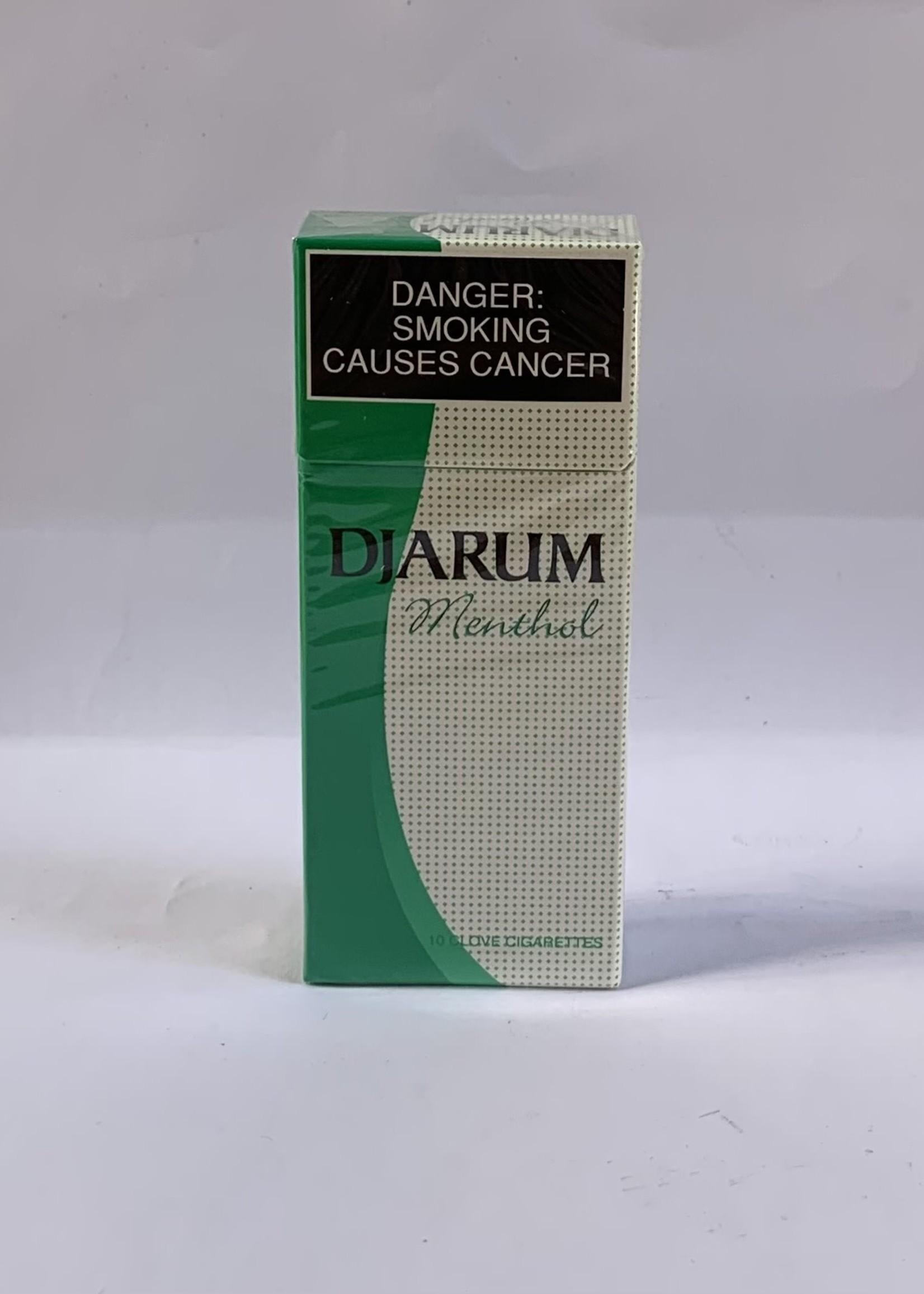 Djarum clove cigarettes - menthol