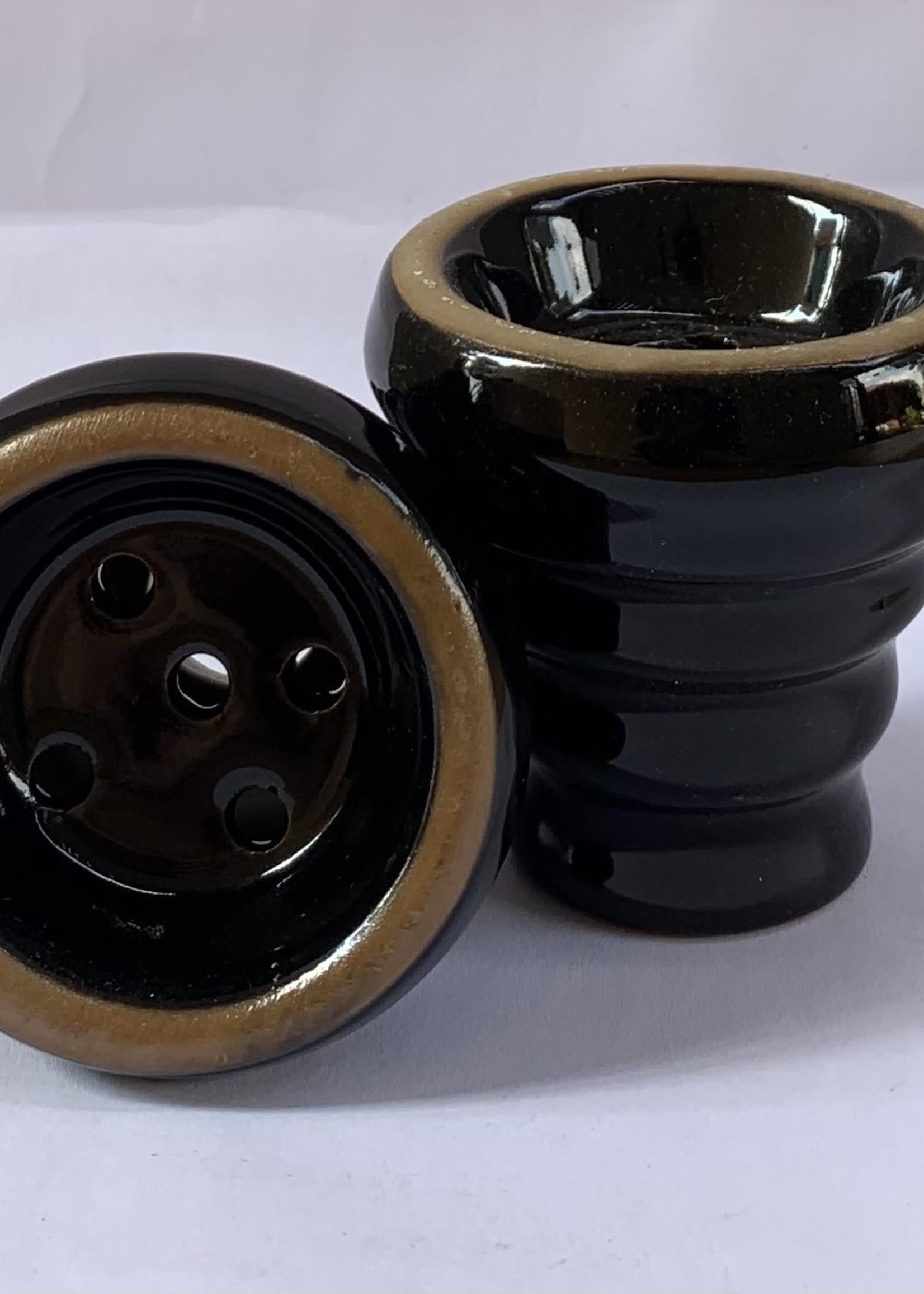 Ceramic head - black