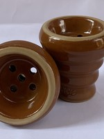 Ceramic head - brown