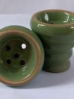 Ceramic head - green