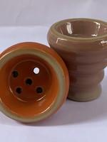 Ceramic head - orange