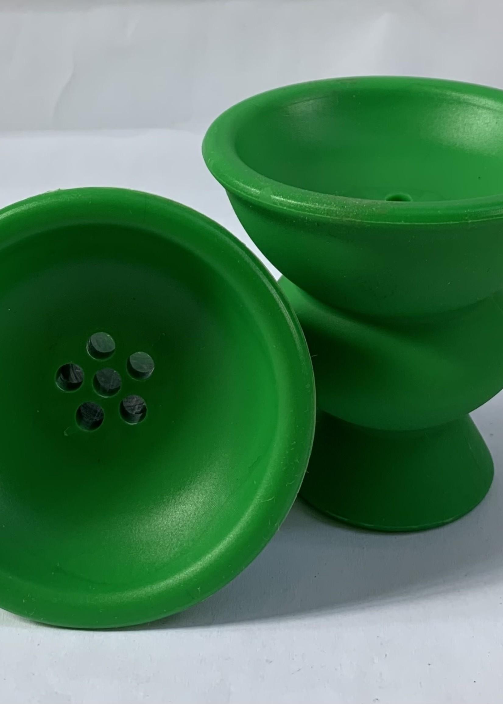 Silicon head - green