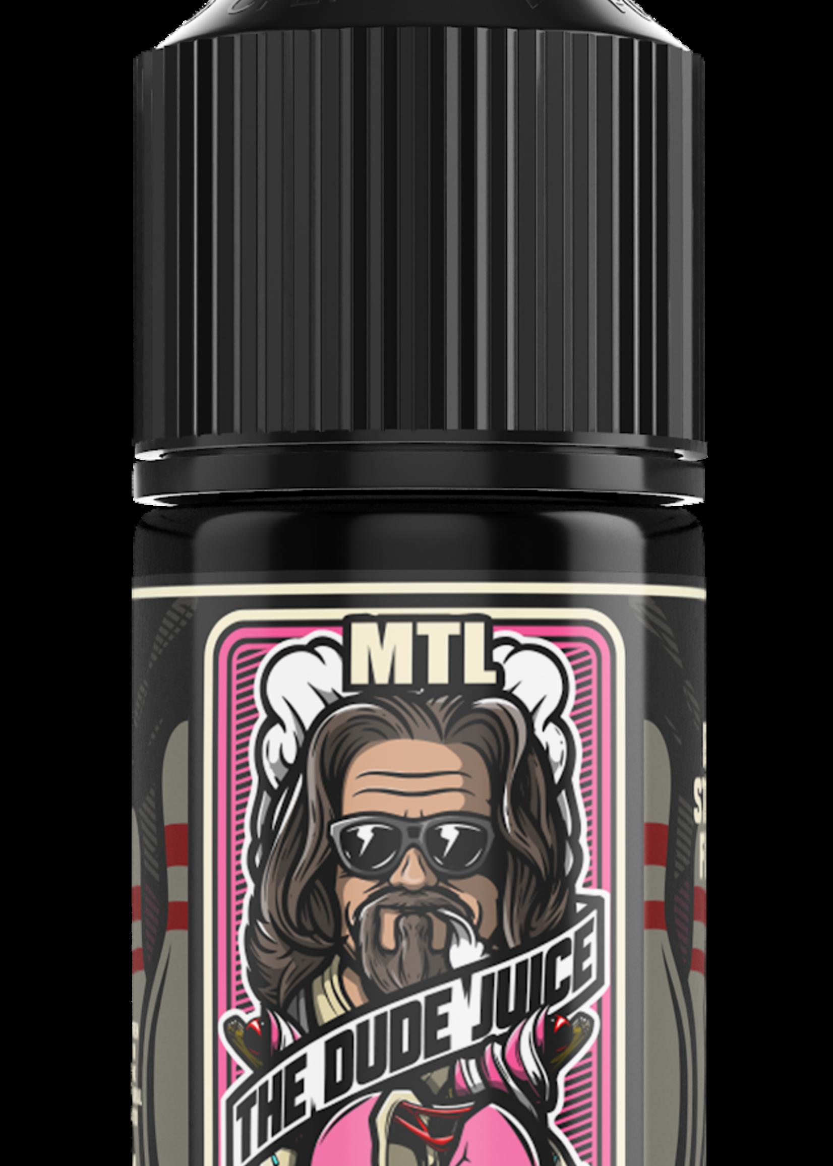 Vape flavour - The dude juice MTL 30ml- 12mg