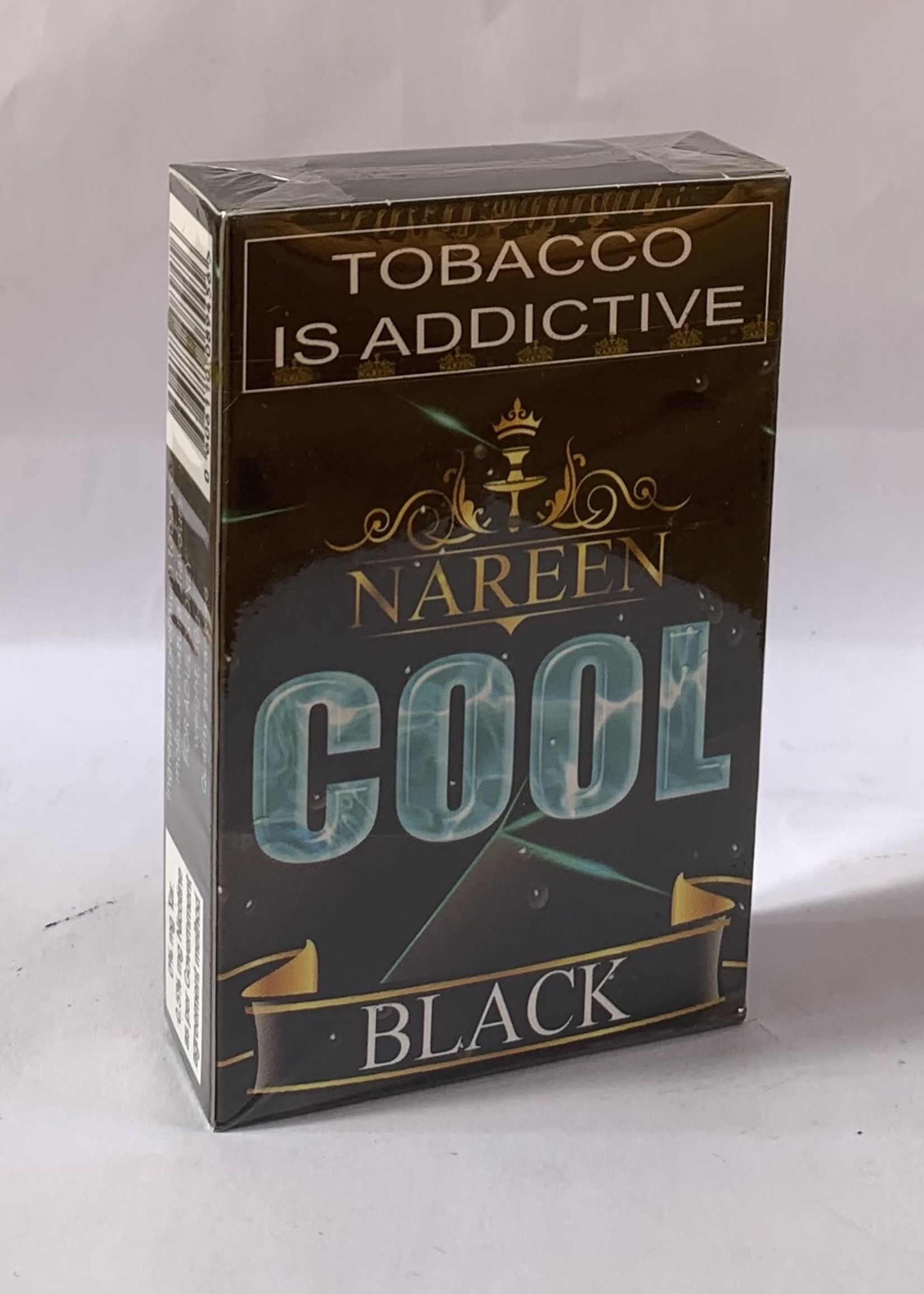 Nareen hubbly flavour - cool black