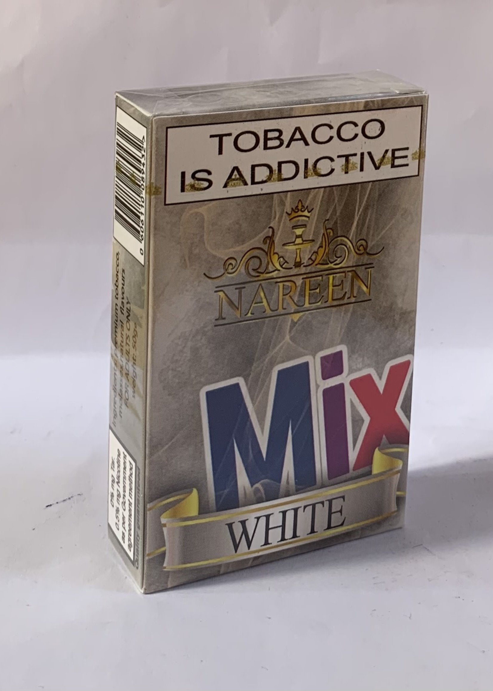 Nareen Hubbly Flavour - White Mix