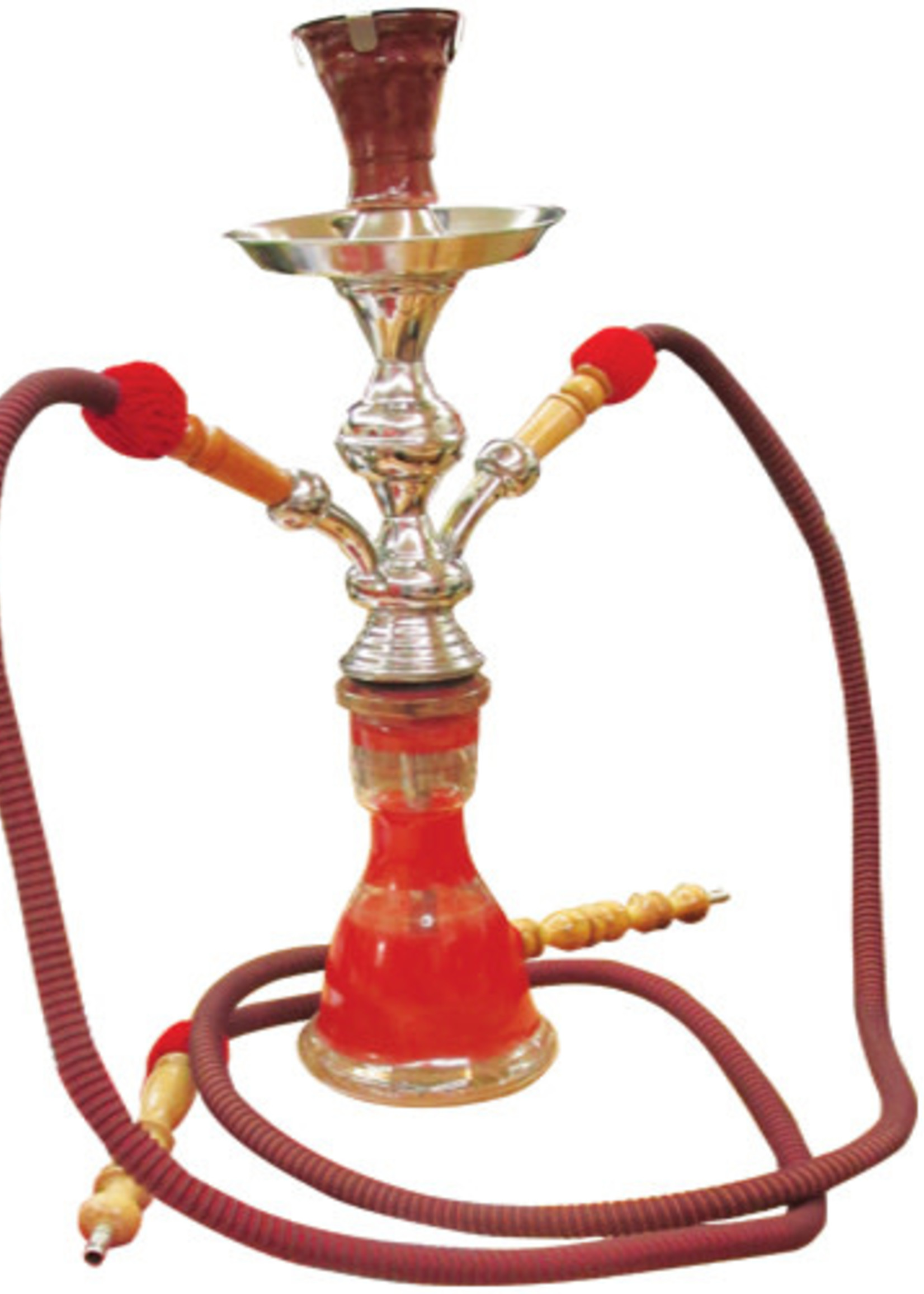 Egyptian Hubbly - Large 2 pipe