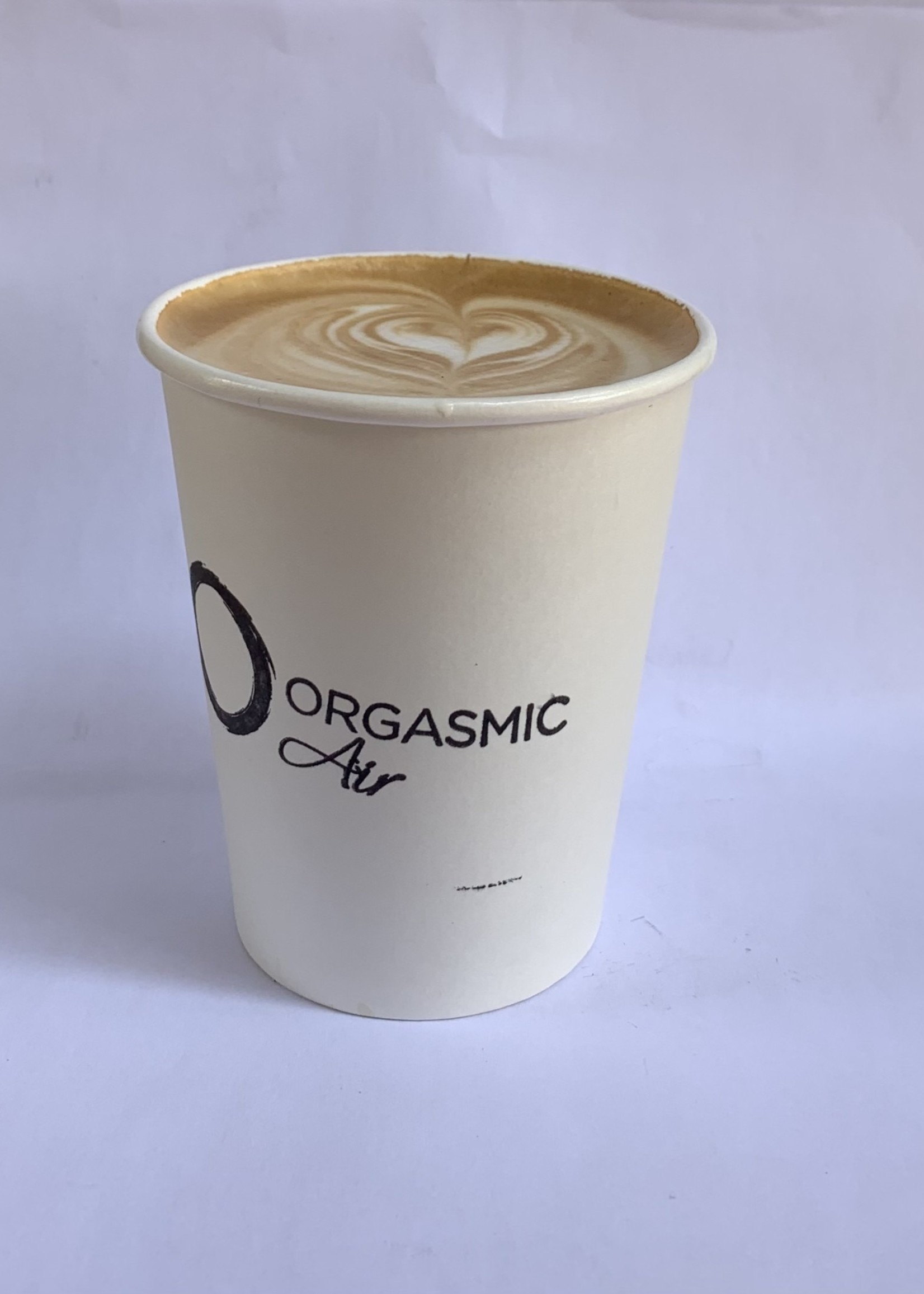 Organic & Air CBD infused caramel cappuccino
