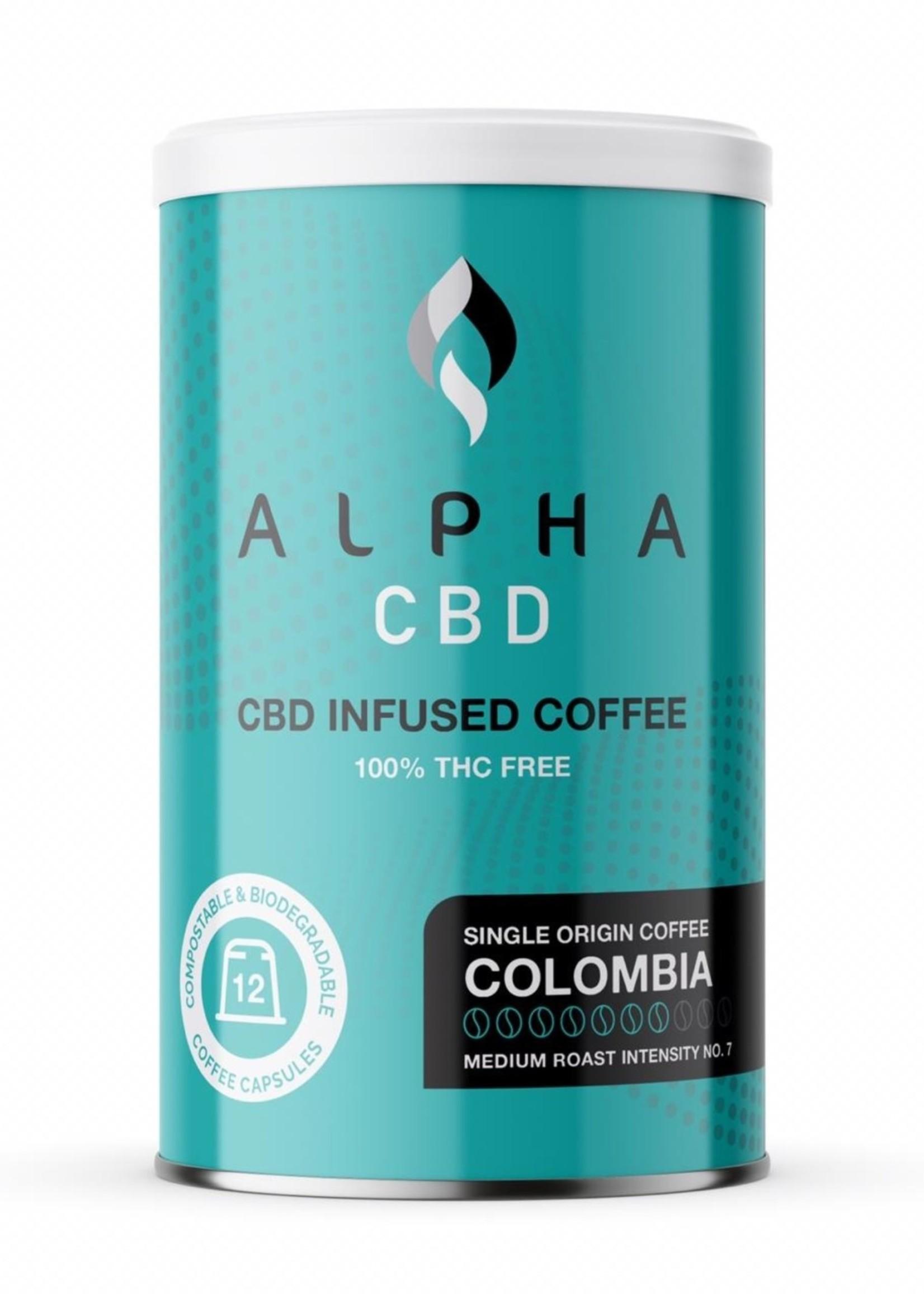 Alpha CBD - Colombian Mild coffee capsules
