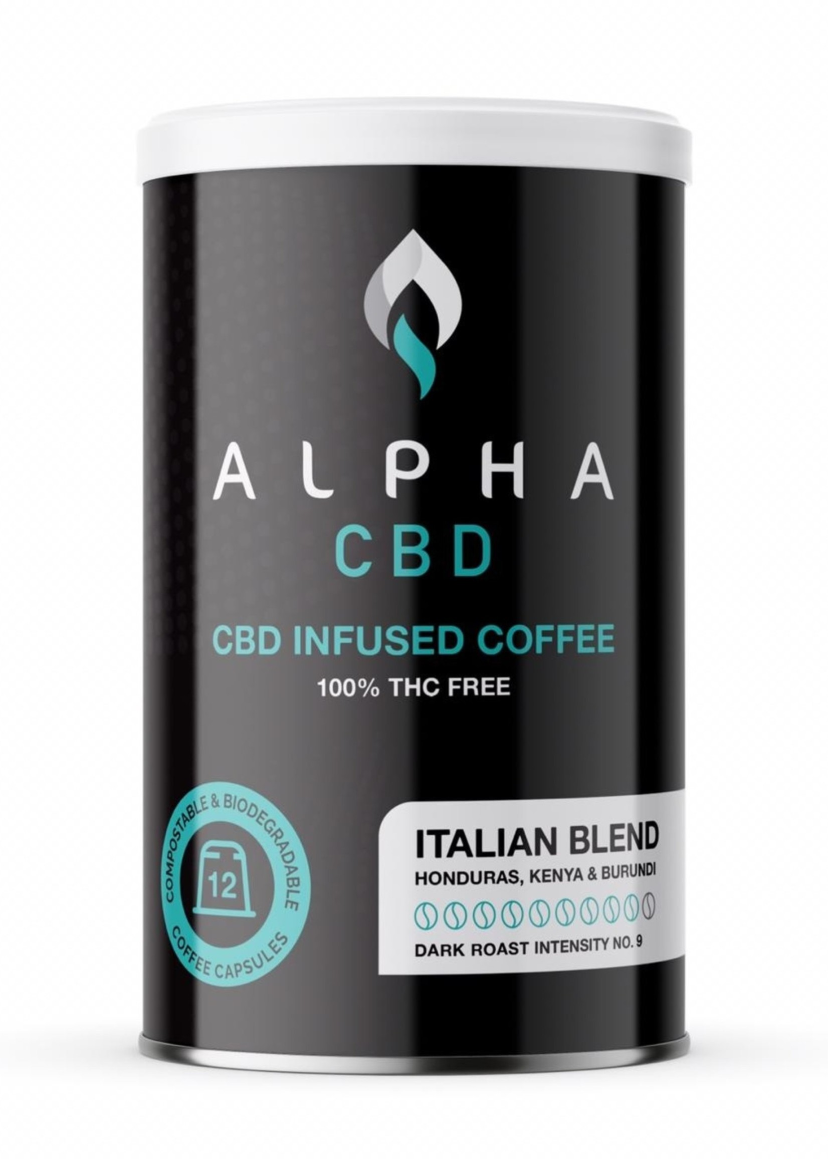 Alpha CBD - Italian Dark coffee capsules