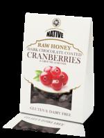 Native Native - Cranberry- Raw Honey & Choc 100g