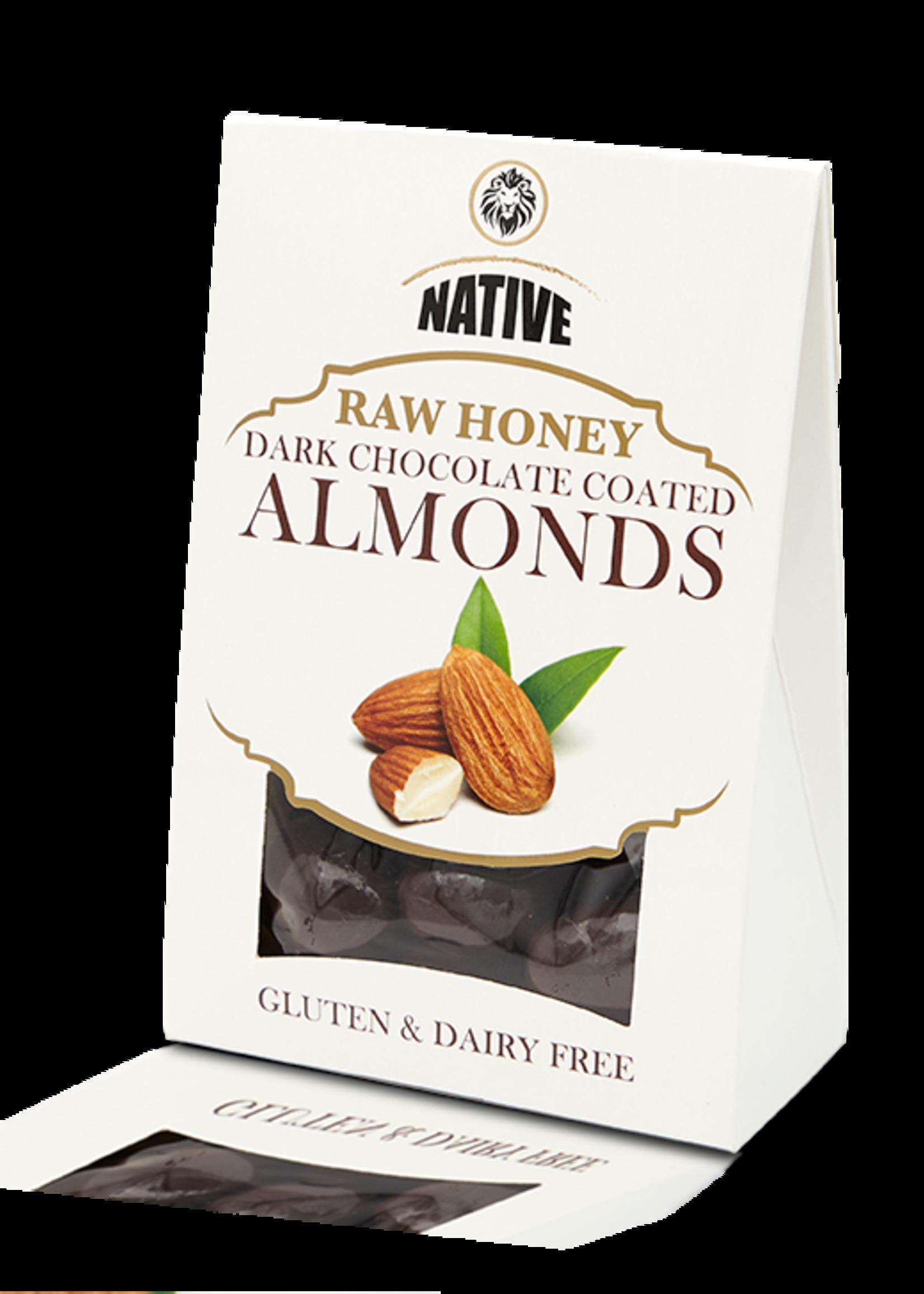 Native Native - Almond- Raw Honey & Choc 100g