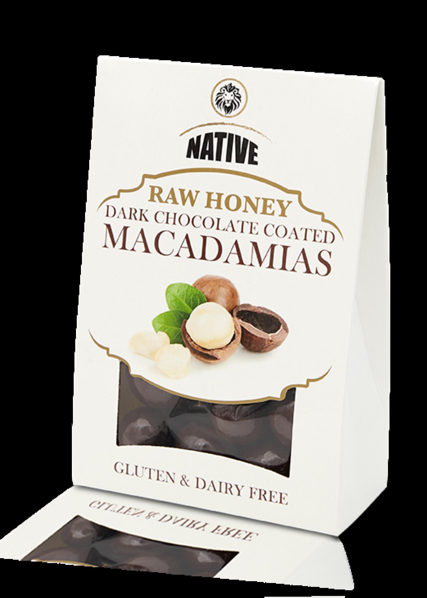 Native Native - Macadamia- Raw Honey & Choc 100g
