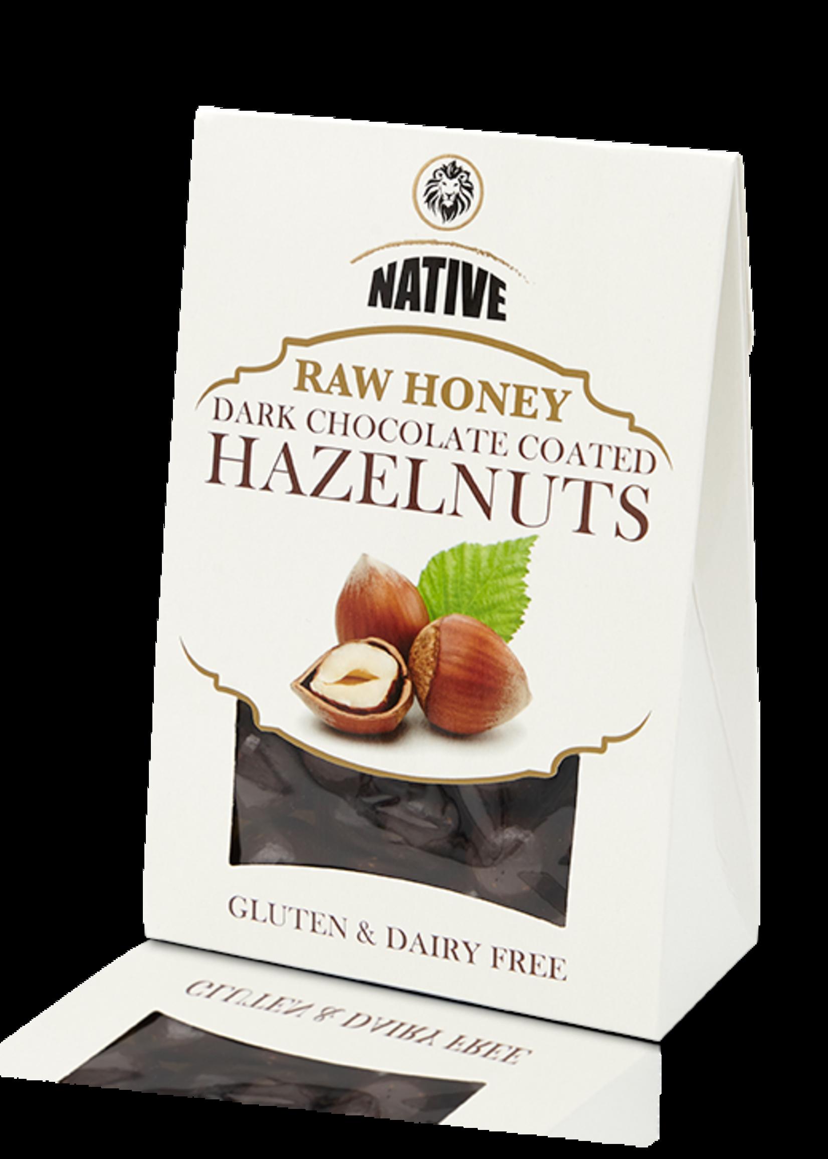Native Native - Hazelnut- Raw Honey & Choc 100g