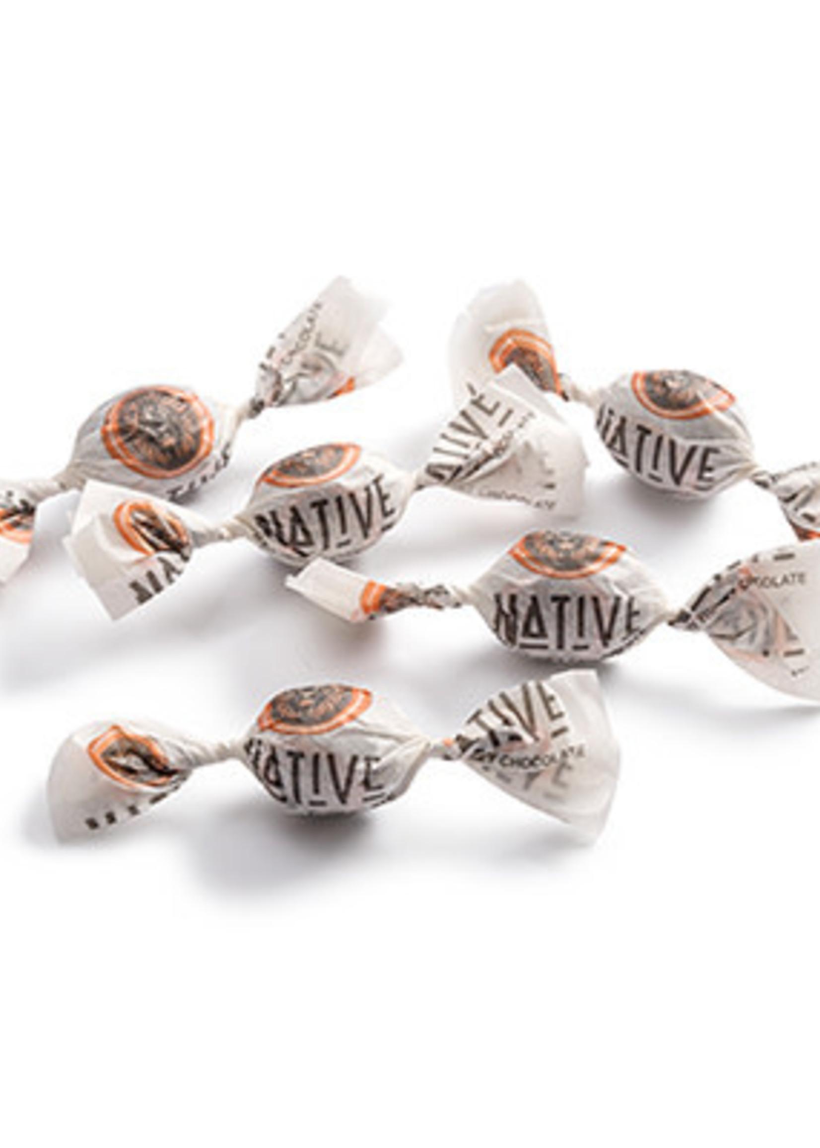 Native Native - Single Wrapped Almond- Raw Honey & Choc