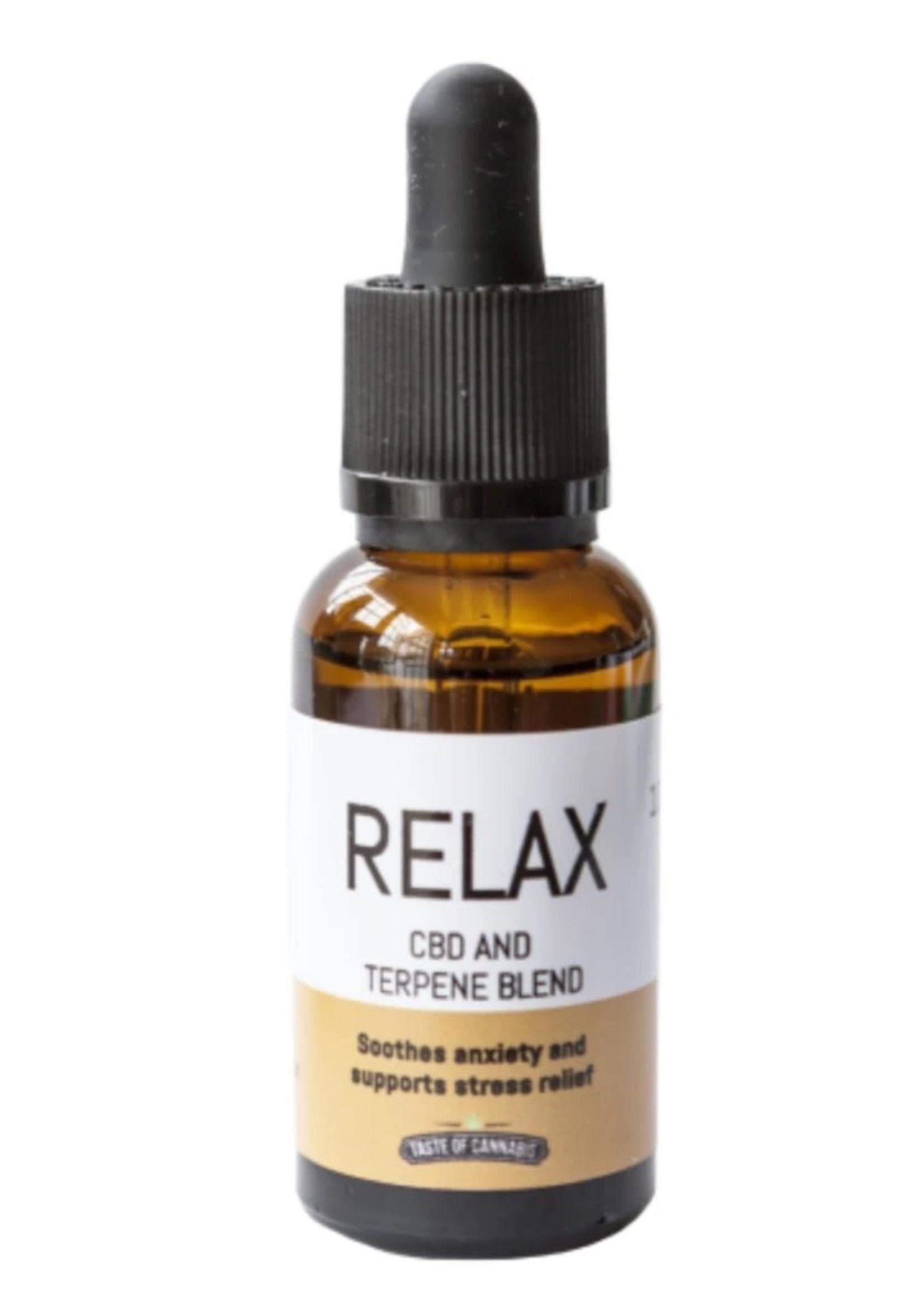 TOC CBD Full spectrum oil - relax 600mg