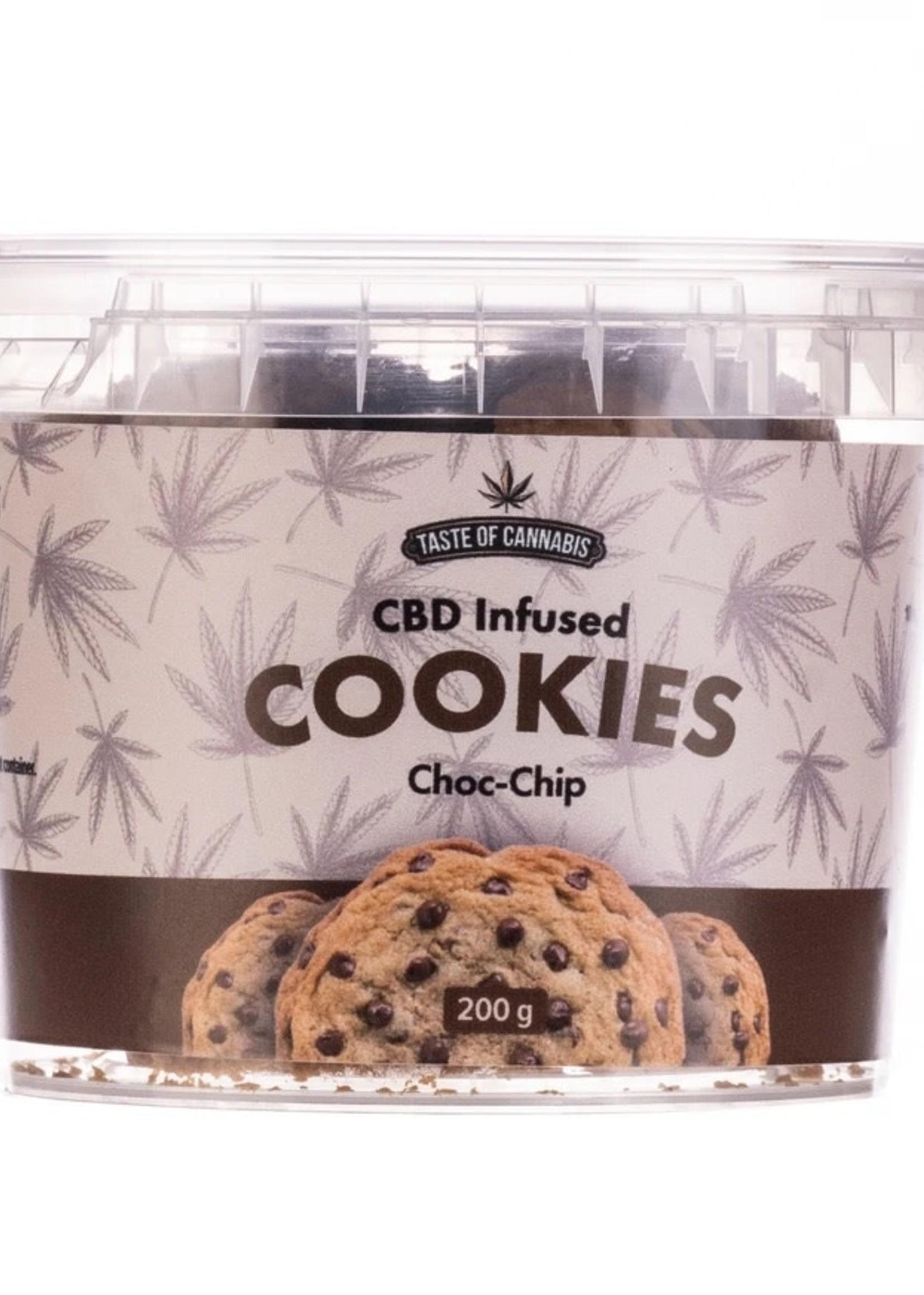 TOC CBD cookies - Choc chip