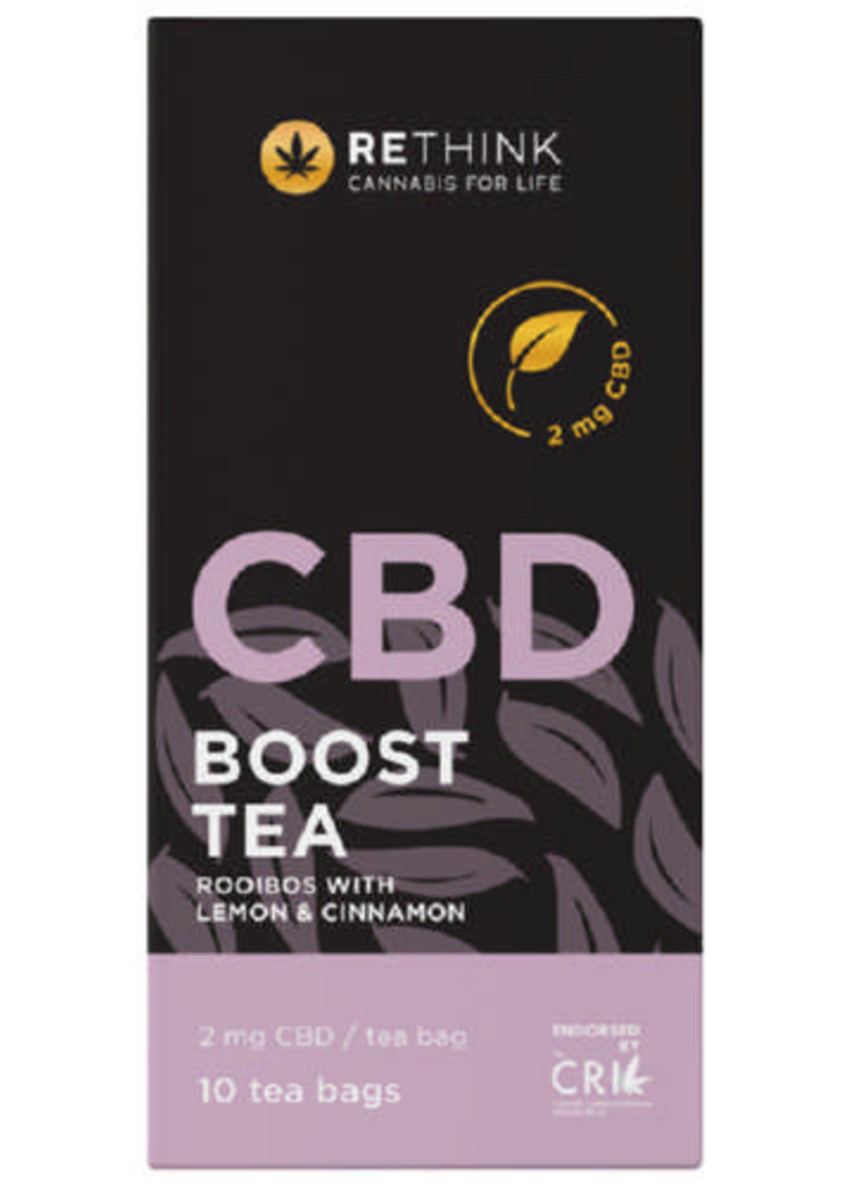 Rethink CBD Boost tea